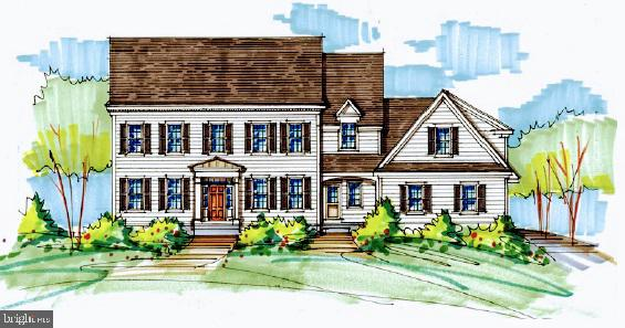 TIBURON DENBIGH PLAN - ACT SOON for SUMMER 2022 COMPLETION in Desirable Easttown Township with T/E Schools and  less than 5 minutes from EA.  The  DENBIGH is 1  of 4 Available Plans in Bentley Homes' Newest community.   The DENBIGH offers a combination of traditional exterior with a spacious flowing interior.   With 9' ceilings on all floors, this plan offers all of the comfort and space you could ask for in a home with the ability to add more finished  interior space above  the 3-car garage  or unfinished basement on this walk-out lot.   Exterior living space can also be expanded by adding a  screened porch , and  by expanding  the standard composite deck with potential for patio space below.   Home sites range from 1-1.5 Acres. Standard features at Tiburon include Great rooms with Coffered Ceilings, Gas Fireplaces, Gourmet kitchens with Wolf and Bosch appliances, quartz countertops, soft close dovetailed joinery cabinetry in a variety of colors and door styles, wide width engineered hardwood throughout the first floor main living areas and upper landings/hallways,  and  melamine closet systems/shelving,   The Denbigh features  a main floor Library, Formal Dining Room,  Butler's Pantry, Mudroom,  and formal powder room,. The 2nd level features a  Main Bedroom suite with spacious spa bathroom with soaking tub and frameless shower, and a huge W-I-C with enough space to add seating or extra storage. A  2nd level laundry room,  spacious secondary bedrooms and bathroom, and many high end finishes complement this timeless design.  Construction standards include 2 x 6 exterior framing,  poured 9' foundation walls, James Hardie Cement Siding, and  Andersen LOW-E Windows,  (Plan/Pricing displayed is for entry price Denbigh A elevation plan. Photos shown are of similar Denbigh B Elevation plan with optional  upgrades that may be incorporated into the home at extra cost),