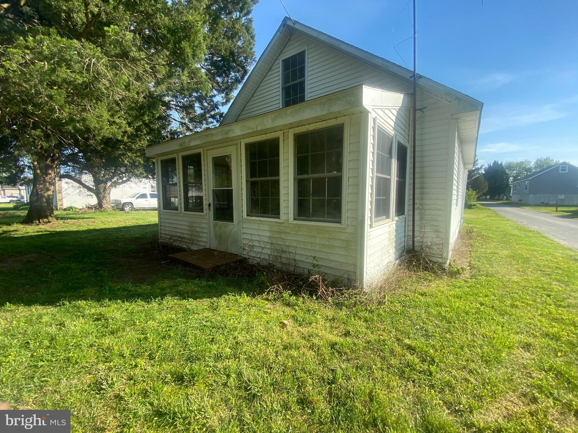 Don't miss this rare opportunity to make this three-bedroom, one-bath home your vacation retreat or year-round living with some sweat equity. Home is located in the great community of Bowers Beach with no HOA fees. The home is located on a large lot on a quiet street only half a mile from the bay.