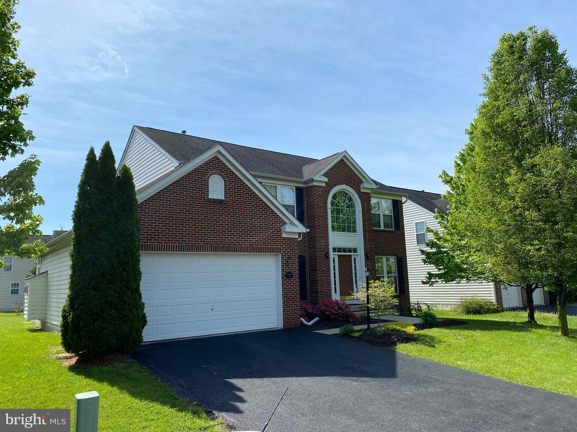 Welcome to The Village of Washington Trail West.  This home is loaded with many extras including but not limited to:  High speed wire package, ceramic tiled owner's bath, 9 foot ceilings on the main level, gas fireplace and mantel in living room off the kitchen, chair railing, tray ceilings, crown molding, hardwood foyer,  3rd bath basement rough in, and rear deck for entertaining.  Ready for immediate occupancy May 7.  Note:  Berkeley County Property, Schools, & 25430 address.  Class III Tax.  Tenant occupied through April 30.