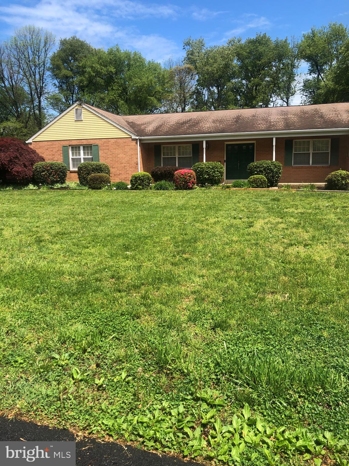 Check out this handsome One Story brick ranch home in the Award winning Unionville-Chadds Ford School District! This Beautiful Single home is situated on a flat and level 1.3 acre private lot in the Desirable Dilworthtown Oaks Estates.  The lot has beautifully manicured lawn, mature trees and flowering bushes throughout, with tons of room to run and privacy.  The land beyond the boundary line to the rear is open and is not to be developed. Enter into the grand foyer thru the large double door entrance which leads to the sunny Formal living room.  To the left of the front door is the Formal Dining Room which leads to a large spacious eat-in kitchen with updated countertops. Coming from the large two car garage there is the laundry room/mud room/ pantry and a powder room.  Access from Terrace in the back directly to the kitchen and the garage.  On the right side of the living room is a Grand Oversized Master Bedroom with Master Bath and additional sink, mirror and cabinets for a great makeup area outside of the toilet and shower. In addition there are three very nice sized bedrooms, and  hall bath, all separated from the rest of the house by a door in the hallway.  Beyond the living room and kitchen is a nice, cozy and well lit family room that leads to the gorgeous terrace out back, for summer BBQ's and family gatherings.  This home has been lovingly cared for and maintained.  It does require some updates in the kitchen and bathrooms but its ready for any happy buyer looking to make their own choices in upgrades.  Plenty of additional storage space, French Drain system installed.  Newer Heat Pump and Central Air.  Easy access to all major routes, shopping, restaurants, Historic Battlegrounds, West Chester Borough, Longwood Gardens and close to Wilmington, DE.