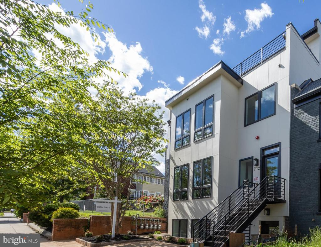 JUST LISTED! This brand new construction condo is a 3 Bedroom, 2 Bathroom pet-friendly condo in the heart of Brookland and is an entertainer's delight! The entrance leads to the open living space. Featuring an open floor plan perfect for entertaining, including a HUGE center island, a dining area, sleek nice-sized gourmet kitchen with stainless steel appliances and so much more, a bedroom and full bath are on this level too.  Continue upstairs to the private owner's suite with a beautiful full bath attached.  Plus - a fantastic PRIVATE deck off of the back! Just blocks to EVERYTHING that Brookland & Monroe Street Market have to offer! Dining, shopping, transportation and more!