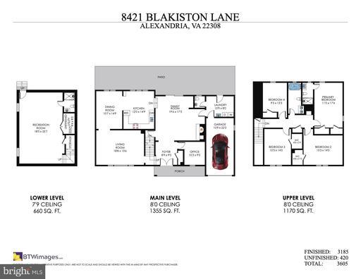 8421 Blakiston Ln Alexandria VA 22308