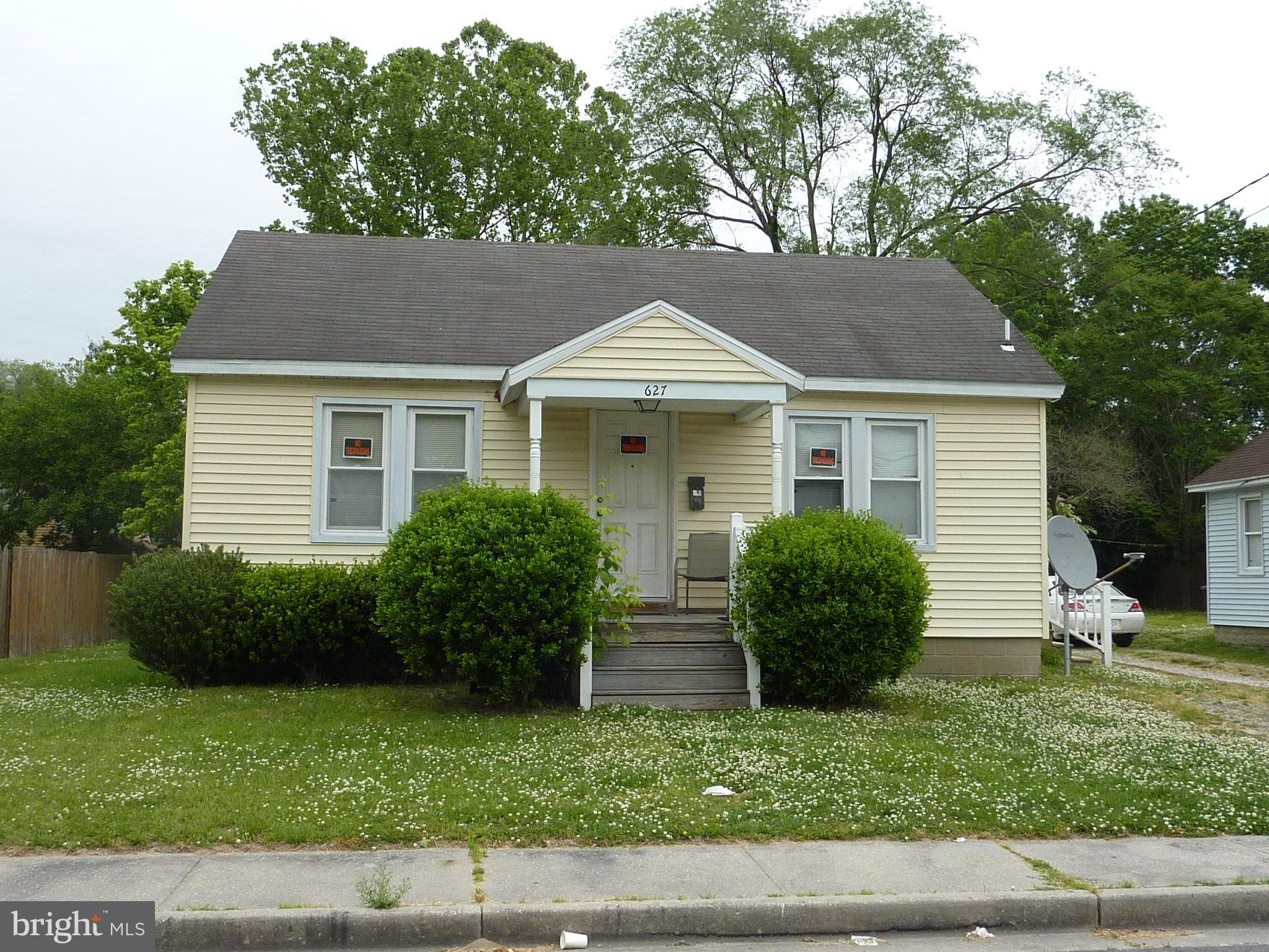 Cozy 2 bedroom, 1 bath rental in Doverdale neighborhood.  Low maintenance vinyl siding and vinyl clad windows.  Kitchen remodeled in 2014.  Large rear yard with storage shed.  MDE Lead Free inspection certificate.  Long term tenant in new lease at 900/month plus all utilities.  Lease expires 7/31/22. To respect privacy of tenants, 48 hours notice required.