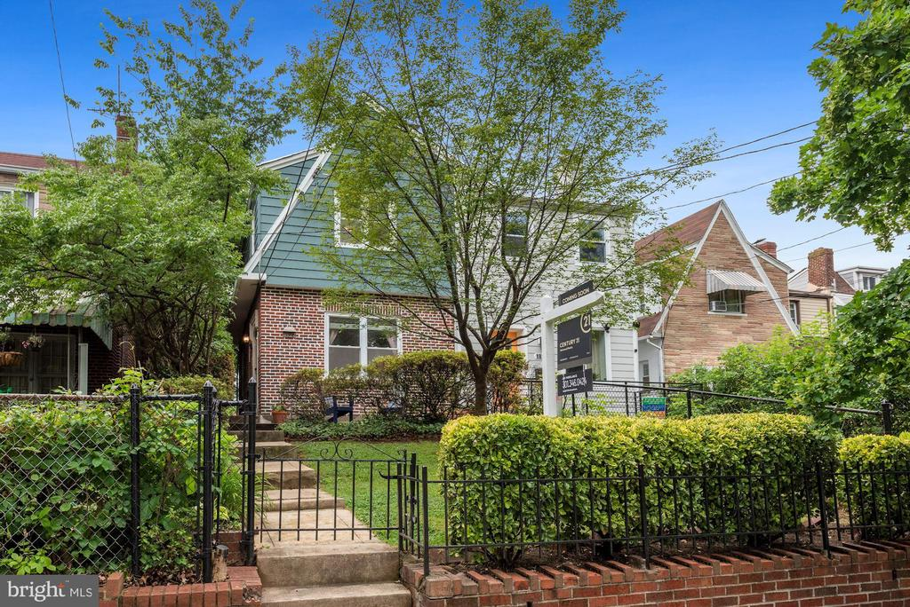 Look no further!  This beautifully maintained semi-detached home in Brookland will certainly impress any buyer.  Situated only a short walk to the Brookland Metro, 12th Street restaurants and shops, and Catholic University.  Conveniently located across the street from the Dwight Mosley Sports Complex and Park.  This home boasts a well-manicured and fenced front yard and a large, open back yard for entertaining or gardening.  The interior of this home is blanketed with the original hardwood floors and era-specific railings and archways.  Conveniently entertain with the open floorplan on the main floor or relax and enjoy the abundance of natural sunlight from the windows on three sides of the home.  Upstairs has three bedroom and a fourth space that is currently being utilized as a walk-in closet, but can easily be converted to an office or sitting room.  This conversion space affords the homeowner tons of extra space for storage.  The basement is currently being utilized as a nanny suite, but can easily be used as an income or in-law suite.  With separate rear entry, as well as inside access, this space is convertible for any homeowners needs.  In this space is a fully equipped kitchen, bathroom and separate washer and dryer.  This home has a unique 3 parking spaces and a shed at the rear of the property.  All of which have easy alley access.  Don't pass up this opportunity to live in such a beautiful neighborhood for such an amazing price.