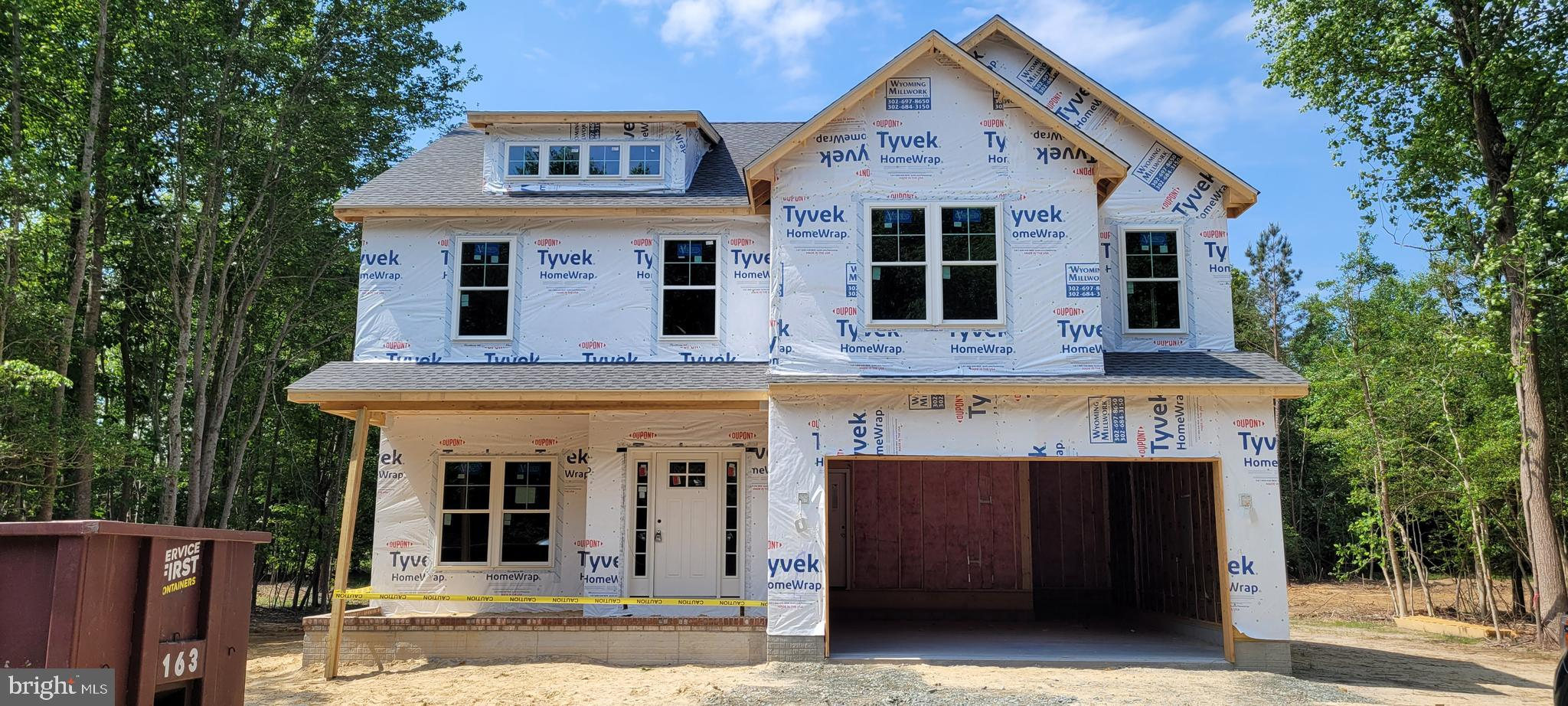 Welcome to Canaan Woods! This new development offers large, 3/4 acre minimum, private wooded homesites, just minutes from Milton. This spec home is breaking ground in late March. The Hampton model will have hardwoods downstairs, Level B granite, & a full 8 foot basement! Completion expected late summer. Pictures are of a similar home.