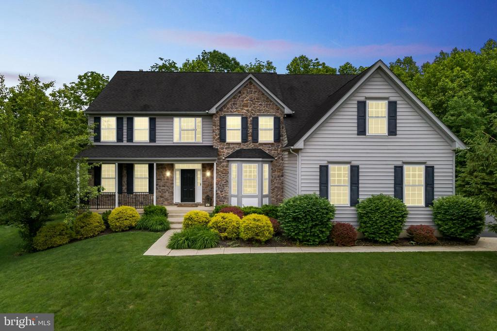 Just listed!  Open House on Sunday 6/13 From Noon - 2pm.  Welcome to 81 Brittany Lane.  This gorgeous updated 4 bedroom 3 full and 2 half bath colonial home is located within the highly desirable community of Highspire Estates in the award-winning Downingtown School District and STEM Academy.  As you enter the community you will immediately notice the spacious common grounds and mature tree-lined lots.  This turnkey home boasts over 5000 total square feet and sits on nearly a half acre at the end of the community, providing a great deal of privacy with low traffic.  The driveway features added parking and an expansive three car garage with ample storage space.  The covered front porch provides an area to relax and enjoy the scenic views of the Highspire Estates community.  As you enter the front foyer you will notice the vast amount of open space amid the grand staircase and spotless hardwood floors, a formal living room with inlaid carpet and an open concept formal dining room with updated fixtures.  The spacious gourmet kitchen area features newly installed lighting fixtures, updated appliances including a WIFI Smart GE dual oven/air fryer, glistening brand new granite countertops, additional cabinetry for ample storage and a stunning center island with KitchenAid cook top and telescoping downdraft.  A newly installed sink, garbage disposal, and faucet complete the new construction feel to this updated home.  A charming breakfast nook attaches to the kitchen and provides the perfect atmosphere to enjoy your morning coffee and bathe in natural light among the cathedral ceiling and windows.  The open concept family room features additional natural light with a full wall of windows and features an impressive gas stone fireplace with reclaimed farmhouse oak mantle.  There is an updated half bath and a spacious first floor office which could also be converted to a 5th bedroom for main floor living.  The main floor rear deck provides the perfect atmosphere for summer ba