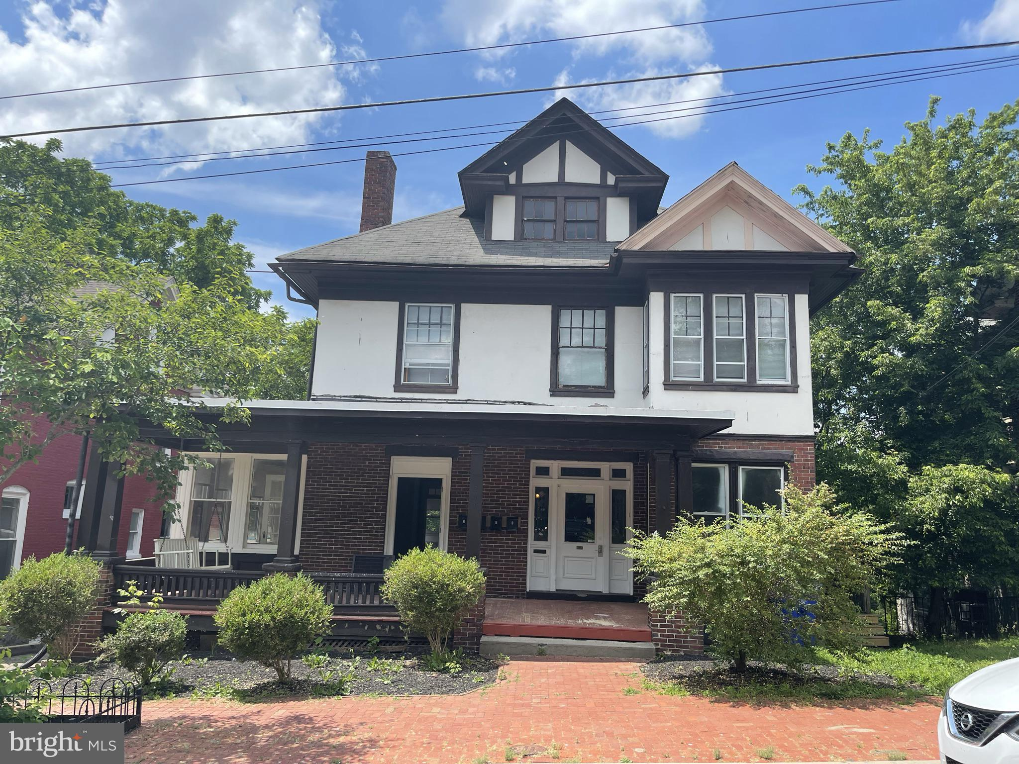 Great location, Beautiful  property situated just a short walk from Hagerstown City Park!  Fully renovated  fourplex , Stained glass windows , hard wood floors, tenants pay all utilities. This is the perfect Investment property