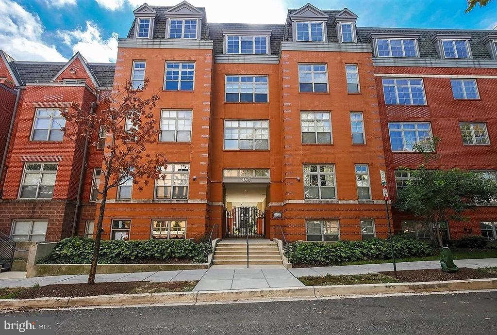 Price adjustment ! This spacious two bedroom 2 bath located in the Parker Flats at Gage School  is looking for a new owner, A secured building with secure under ground parking conveniently located to Metro and downtown DC.  Pet friendly building.    Please adhere to covid 19 guidance, please wear masks and do not enter unit if you feel symptoms.