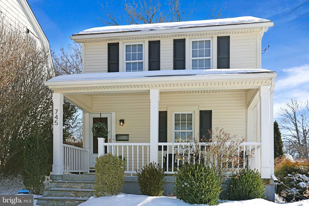 Inside and out, 745 Preston Avenue is a modern cottage with 2 car garage that has all the charm you could hope for, and all the upgrades you could need. Over $50K has been spent on modernizing the home, including all new light fixtures and ceiling fans, custom blinds throughout, washer and dryer, mini-split heat and A/C in the finished basement, high-efficiency central heat, tankless hot water heater, 200 amp electric service, full attic spray insulation, front porch posts, garage roof and even access to gig-speed internet for working from home. Truly, no expense has been spared in making this home the quiet, relaxing retreat it is intended to be. When you step inside from the covered porch, the spacious living room greets you with lots of light, beautiful hardwoods and plenty of space for family and friends. The dining room features a large entry, crown moulding and the same open, airy floor plan. And the kitchen is an entertaining space unto itself, boasting plenty of room for additional seating, along with stainless steel appliances, gas cooktop, granite countertops, recessed lighting and access to the back patio. Outside, a fully-landscaped exterior, fenced-in yard, full-length private driveway and detached two-car garage make up the perfect outdoor space. Upstairs, a large landing and hardwood floors lead to three generous bedrooms and one renovated full bath. Overlooking the backyard, the primary bedroom is greeted by the morning sun and features a large closet. The second bedroom is the perfect nursery or office space. The full bathroom features penny and subway tiles, along with beadboard moulding and, yes, unlimited hot water. And the third bedroom is bright and cheery with ample room for kids, visitors or even an office. Downstairs, the finished basement is perhaps the best surprise 745 Preston Avenue has to offer. Perfect as a second living space, playroom or even a bonus guest room, it features a half bathroom, recessed lighting, separate heat and A/C, a