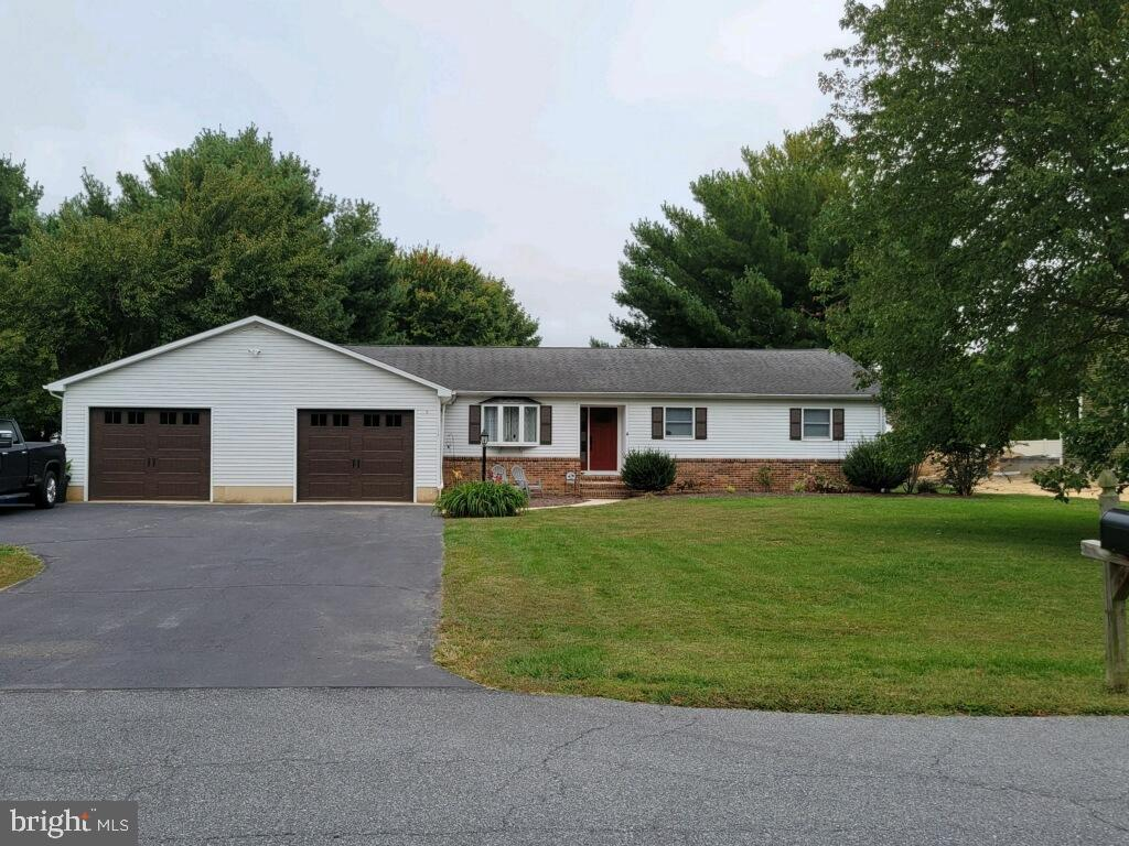 Fantastic Remodel in the quaint community of Hideway Acres. This 2400+ sq foot ranch, located on a Cul-de-sac on a .51 acre lot in the sought-after Caesar Rodney School District, features 4 Bedrooms and 3 Full bath, Wood Burning Fireplace, 2 Car oversize Garage and Basement. Served by Public Sewer, Natural Gas and Well water.
