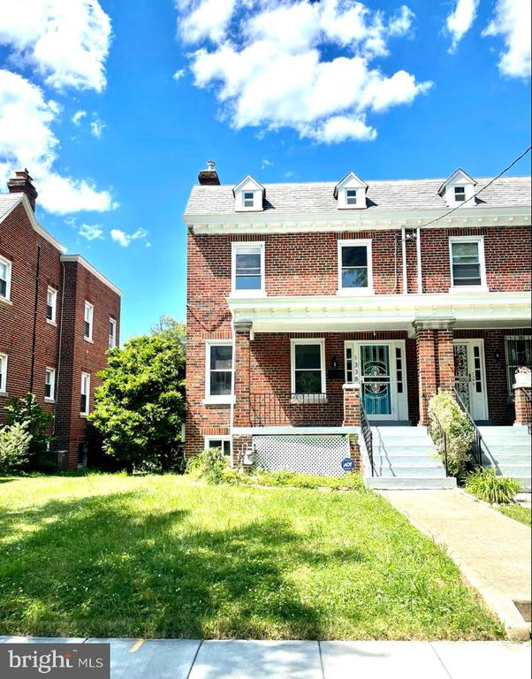 Welcome to your future home in Brookland!  The semi-detached, beautifully renovated home boasts a total of 4 bedrooms and 3 full bathrooms with central air/heat. The upper level offers 3 bedrooms, with windows that let in a plethora of natural light, and 2 fully updated bathrooms. The hallway bathroom has a skylight and a  bathtub, while the primary ensuite is handsomely renovated with a rainfall shower. Upon entry you are met with gorgeous, newly finished hardwood floors, a decorative fireplace, and a stunning open kitchen. The kitchen includes granite countertops, an eat in bar, stainless steel appliances (dishwasher, fridge and gas range), recess lights, and a washer-dryer combo. The lower level offers a fully renovated, sunlight filled one-bedroom basement apartment. The basement includes its own kitchen, full bathroom, front-load washer-dryer and private  entrance to accommodate potential tenants, AirBnB guests or personal guests. The backyard has  private parking for two vehicles. Outside, you'll enjoy the charming front and back porches.  The home  is .7 miles (14 minute walk, 7 minute bus ride) to Brookland Metro and is within close proximity to several bus lines (H6, H8, 80, R4). City living with suburban qualities. Additional pictures will be uploaded in the coming days.    ALL OFFERS WILL BE REVIEWED ON MONDAY JUNE 21 AT 6PM.