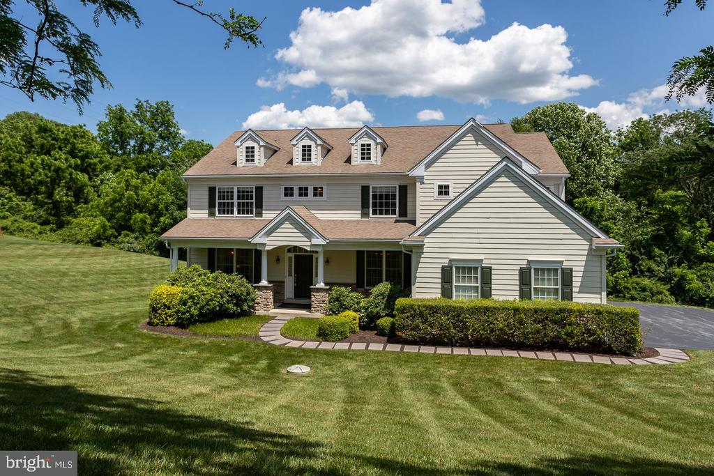 Don't miss this beautiful home in the Estates of Broad Run! First floor has a 2-story foyer, formal dining room, large office/study, and powder room.  The  huge 2-story family room has a two-sided floor-to-ceiling stone fireplace.  The kitchen features a ceramic tile, large eating area, island, stainless steel appliances including a wine refrigerator and double-ovens. The kitchen provides access to the large deck with perfect for grilling and features Sonos music system.  From the kitchen take the back staircase to the 2nd floor bedrooms.  The 2nd floor offers a large master suite with walk-in closets by design for two and a tiled master bathroom with large Jacuzzi tub. A princess suite with full bath and Jack & Jill bedrooms share an additional full bath.  A finished walk-out basement with 9-ft ceilings, movie, gaming, and bar area including an insulated wine cellar area perfect for entertaining. Located in the West Bradford Township home to the award winning Downingtown school district and close to Rt. 30, 322, and 202.