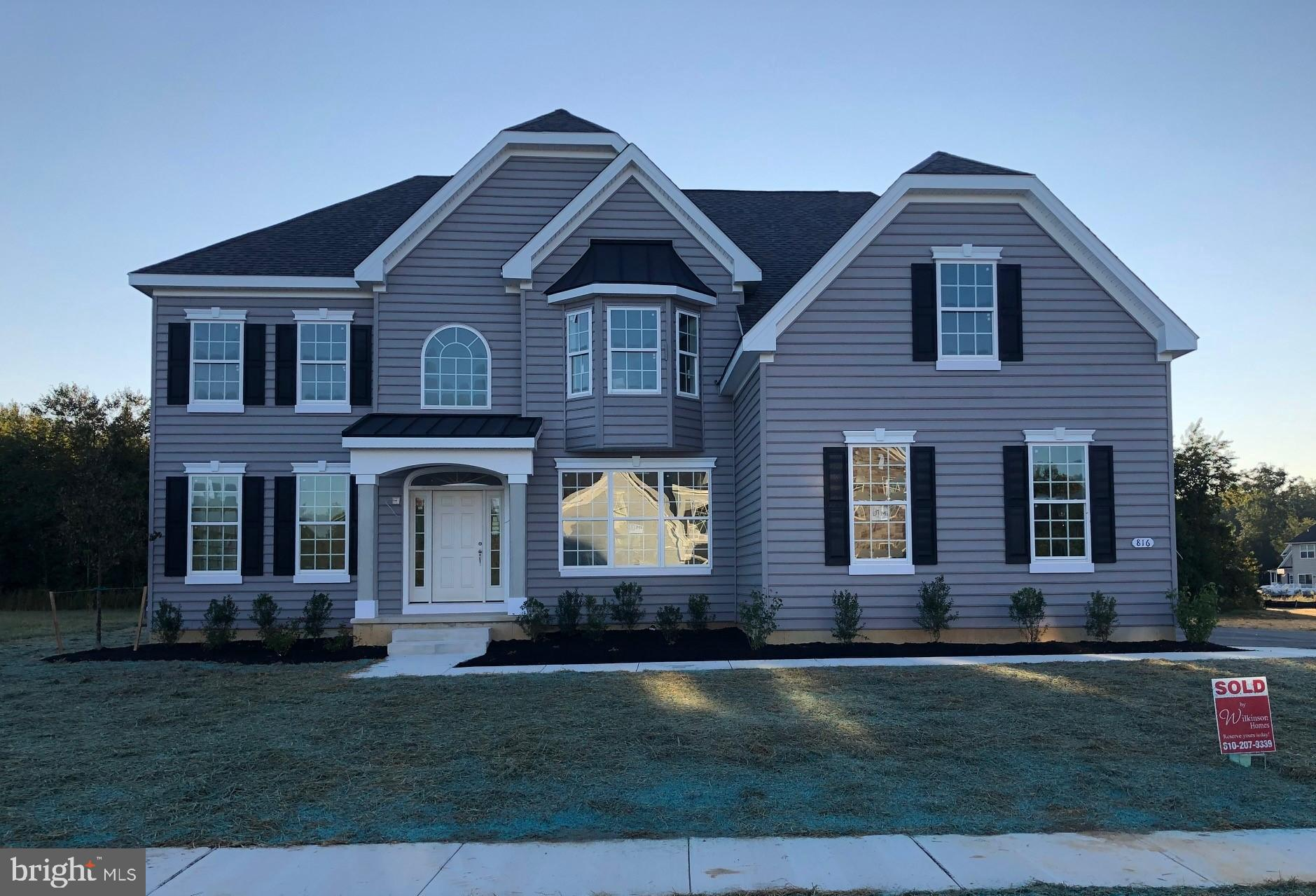 Waterford Chateau on Brookfield lot #28 with 5 bedrooms, 4 Full baths, Gathering Room, Study, 3 car garage and much more.  AOS 2/14/21