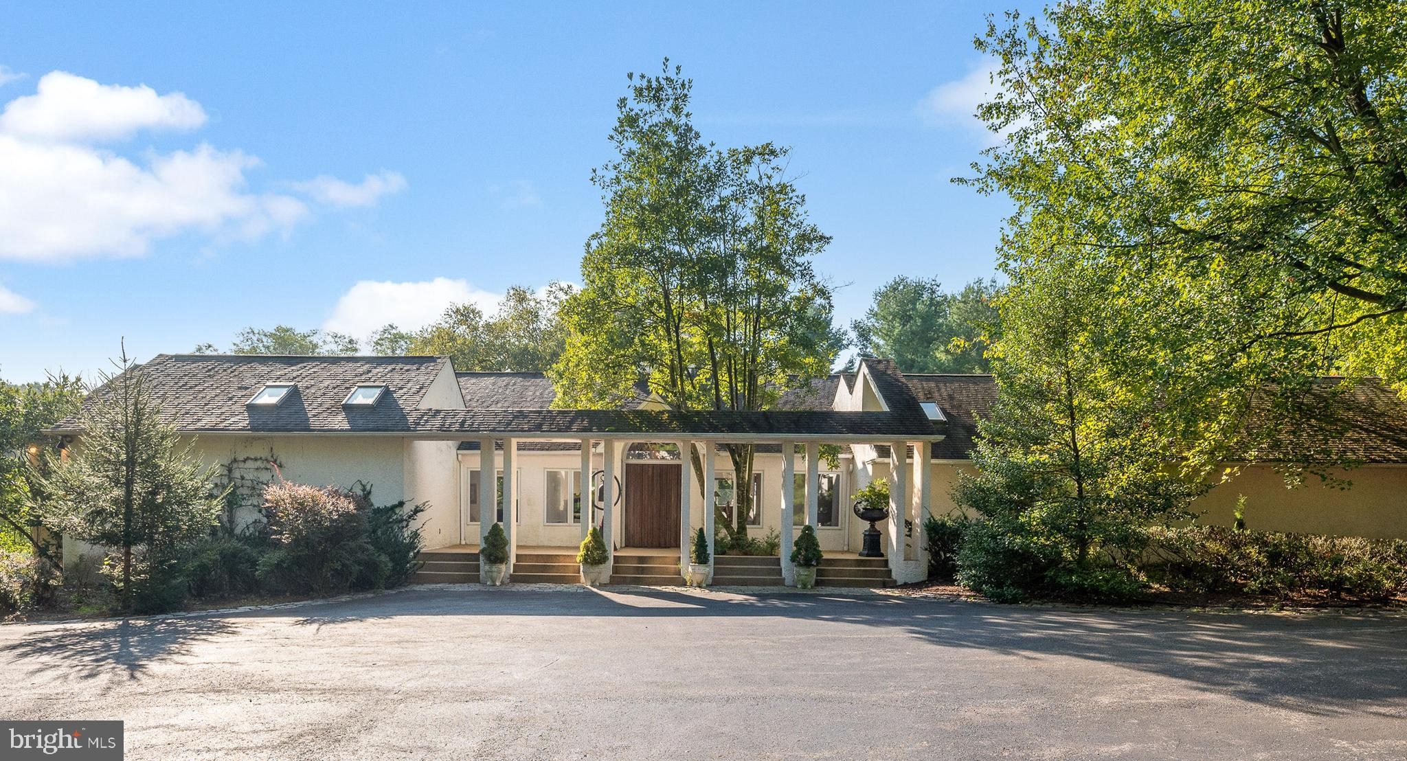 Welcome to one of the most picturesque and private homes situated on 14+ acres in Centreville, Delaware. This contemporary 5,800 square foot home has vaulted ceilings, an open floor plan and abundant windows to take advantage of the natural light. The main level includes an open kitchen to dining room to living room design with a centrally located three-sided fireplace. Floor to ceiling custom built-in bookshelves and cabinetry provide ample storage and give the home a warm glow. Two separately located bedrooms are on the main floor, each with a private bath; the main bedroom suite adjoins the expansive sun filled art studio with large windows on three sides. The lower-level main bedroom suite includes a sitting room, walk-in wardrobe closet with island storage, storage closet and private bathroom housing a Jacuzzi bathtub and an oversized shower. A perfect location to create the estate home of your dreams. This unique property with over 14 acres consists of three separate parcels of land with Delmarva Power supplied electric and natural gas. The home is located on a usable 3.32-acre lot with an adjacent rolling 3.32-acre lot.  In addition, there is an 8.19-acre lot spanning the entire back property line of the two front lots. The 8.19-acre lot has a separately deeded easement access on another area of Selborne Drive and is perfectly situated for its own separate driveway. Please contact listing agent George Hobbs for additional information 302.545.5263