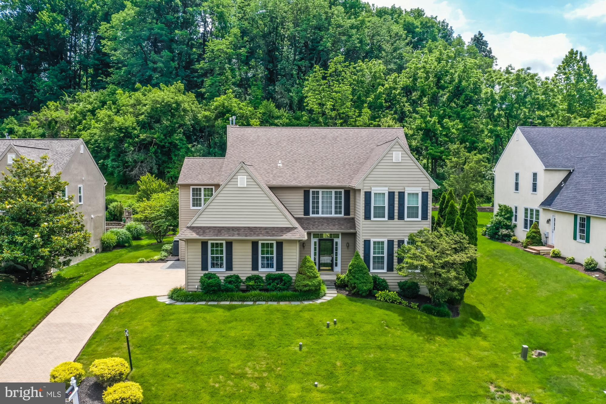 A truly move-in ready, elegant 4 Bedroom, 3.5 Bathroom home with a fabulous finished lower level in the sought after neighborhood of Idlewilde.  The beautiful paver driveway welcomes you to the front porch and invites you inside to an open floor plan with gleaming hardwood floors.  The Living and Dining Room that join make perfect space for flexible entertaining.  An updated gourmet eat-in Kitchen that features custom built cabinets, a granite island and new stainless appliances  with sliding doors to the private Deck. The Kitchen is open to the Great Room with a vaulted ceilng, sunburst window and gas fireplace that offers entry to an Office/Study.  Garage access, Mudroom with Laundry and Powder Room complete the main level.  Up either the front or back staircase to the spacious ensuite Primary Bedroom with multiple walk-in closets, separate Sitting Room plus handsome updated Bathroom with soaking tub, glass surround shower, double bowl vanity, and water closet.  Three large additional bedrooms and a full, hall Bathroom are located on the second floor.  The lower level is finished with an Entertainment area plus a state of the art Media Room (with all equipment and furniture included!) along with a full Bathroom, separate Office and unfinished storage area.  Idlewilde is an easy walk to West Chester County Club, a few blocks to downtown West Chester, and convenient to major highways and shopping.  Located in award winning West Chester school district this is the home you have been waiting for.   A brand new roof, freshly painted interior and new kitchen appliances still under warranty, all the work has been done, just move in and enjoy!