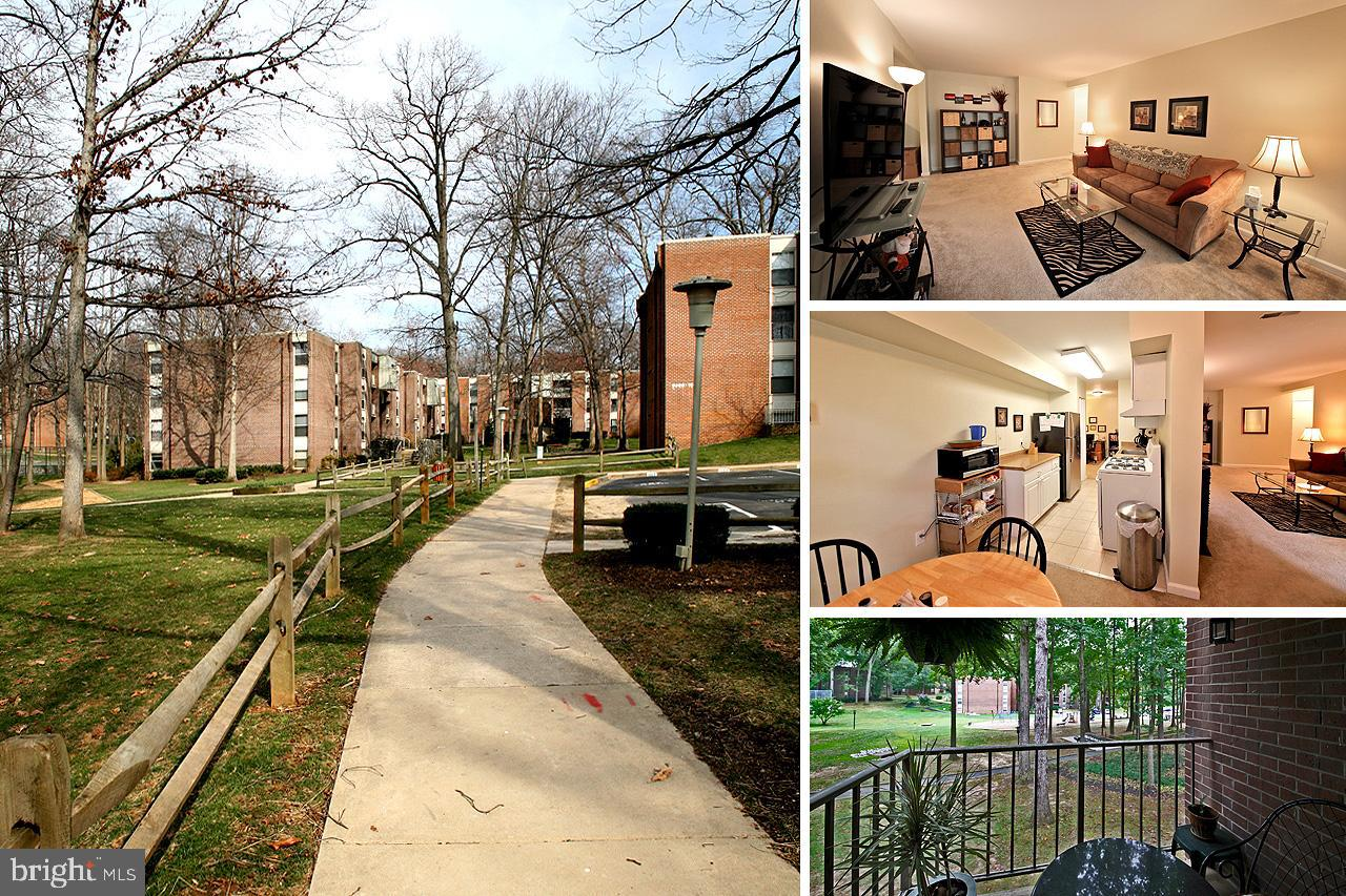 Wonderful updated large 2br/1.5 ba condo at Woodburn Village with beautiful treed courtyard views. Newer kitchen cabinets, countertops, appliances. Gas cooking! The condo fee includes all utilities.  Laundry and extra storage in basement.  Just steps from Fairfax Hospital - minutes from I-495, I-66 and Tysons Corner. Convenient to bus and metro, Mosaic etc.    Woodburn Village is a garden community with great common grounds, picnic areas, sports courts and outdoor pool.