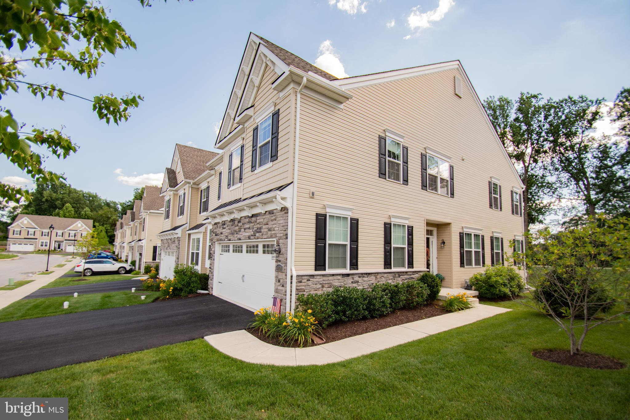 Custom Bradford Model with over $70K in Upgrades! One of the largest units in the Reserve at Glen Loch. This absolutely stunning open floor plan exudes all the warmth and comfort as you enter the front door.  The gourmet kitchen with all the amenities awaits your finest meal. The Family Room is spacious and offers a custom marble fire place. The pictures speak for themselves! The first floor private office has an abundance of light. As you continue to the 2nd level you will encounter a large loft area centered perfectly. The master bedroom suite offers 2 walk in closets. Perfect! The other 2 bedrooms are generous size. The finished basement completes the pictures. Taxes have been appealed and are about $1000 less than what is in the public records. The seller is licensed PA realtor.