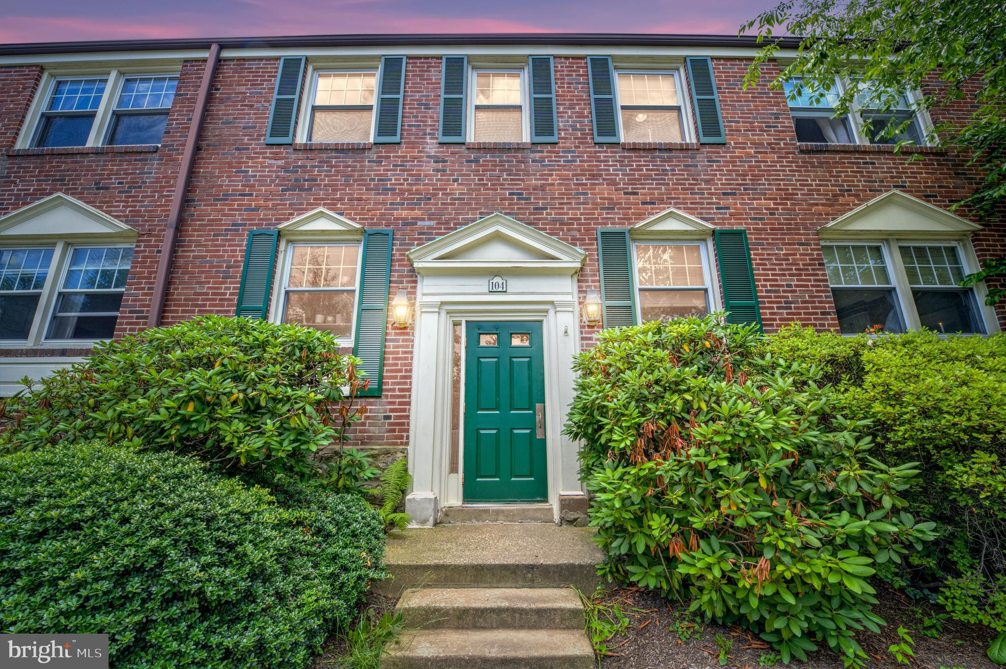 Welcome to Unit 104C in Saint Davids Park! Move right into this 2 bedroom, 1 bath condo which includes a separately deeded parking spot #8 (Tax ID 36-03-01702-17) in the underground garage with remote entry. As you enter the front door, a convenient hall closet greets you with hardwood floors that carry throughout the entire unit reflecting an abundance of natural light. The open kitchen with newer oven and granite countertops affords a pass through into the large living room with crown molding. The designated dining area is currently set up as a work from home office perfect for attending those mandatory zoom meetings. Both bedrooms offer plenty of closet space. A shared hall bathroom completes the floorplan. The bonus basement offers a personal washer and dryer (both new in 2017), wash basin, plus plenty of storage space. *** Please call us for the personalized website that we created especially for this home featuring a three-dimensional Matterport tour, Virtual Reality Walkthrough, detailed Floor Plan, professional photography, aerial drone footage, and community video. Disclaimer: Some photos have been digitally enhanced. *** Move right into this popular community situated close to everything on the Main Line. Or purchase it as a great investment to add to your portfolio. Award-winning Radnor School District! Don't miss an opportunity to live in one of the Main Line's most sought-after towns! Easy access to Center City, 76, PA Turnpike, Routes 30 & 476, and commuter rails. Walk to the St. Davids Train station, downtown Wayne, the Library, Radnor trail, public parks, grocery store, shopping centers, restaurants, movie theater, and more! Monthly fees include snow and trash removal, landscaping, all exterior maintenance, etc.