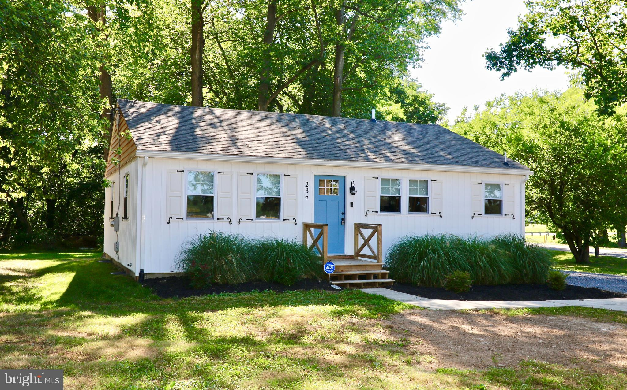 A MUST SEE!! Beautifully renovated ranch home with  3 spacious bedrooms. Featuring a full basement (unfinished),  stainless steel appliances, updated flooring , light fixtures, chair rail and more. This home also has a newer roof,  siding and septic system and sits on 1.3 acres!!  This one will NOT disappoint!