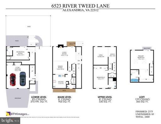 6523 River Tweed Ln Alexandria VA 22312