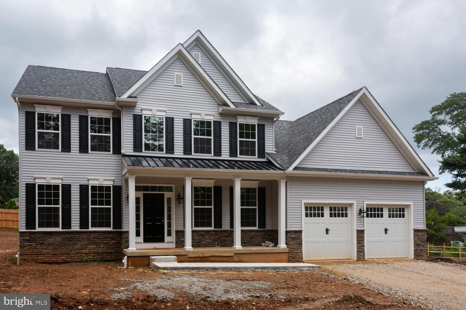 Wonderful opportunity to buy new construction in Malvern Borough. This home is within walking distance to all that Malvern has to offer including shops, dining, parks and the train. This home has not yet been started so this is a great time to fully customize your home or make any changes. Enter from the covered front porch into the two-story foyer with wood floors. To the left are French doors to a private office and to the right of the foyer is the formal living room and dining room. From the dining room enter into the gourmet kitchen with plenty of cabinet space, a walk-in pantry and a large island for gathering, prepping dinner or just a place to relax and have your morning coffee. The kitchen opens to a breakfast room with sliders to the back yard as well as a family room with a propane fireplace with mantel and plenty of windows. Also off the kitchen is access to the mud room/laundry room with space for either cubbies or an additional closet as well as the two car garage.  There is also a powder room and large coat closet on this floor. The second floor offers four generous sized bedrooms and two full baths. The main bedroom offers a walk-in closet large enough to split into a sitting room as well if desired. The master bath offers a soaking tub, stall shower, double vanity sink and a linen closet. The hall bath features a double vanity and a tub/shower combo. Additionally, there is a large walk-in closet in the hall that may be able to serve as a laundry room instead.  There is a full walk out lower level just waiting to be finished as well. This is a great opportunity to buy a new home surrounded by other new homes in desirable Malvern Borough.