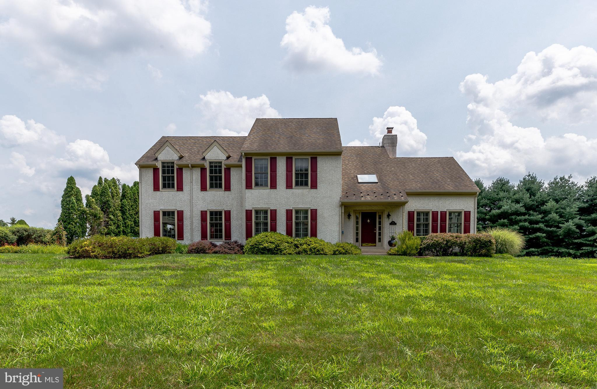 This is your chance to live in Meadowcroft! Fantastic views, gorgeous lot, awesome floor plan! Many updates include rooms freshly painted, newer-2020 High Efficiency HVAC System, new oversized septic tank, expansive composite deck with patio and fire pit, hardwood floors throughout. Enter the front door into the 2 story foyer with turned stairs, crown molding and ceramic tile floor. To the right of the foyer is the well-lit inviting living room with cathedral ceilings; to the left you will be in the formal dining room. Continue through the foyer into the very accommodating family room with fire place which opens up to the Kitchen. The oversized Kitchen island is an entertainers dream! Off the family room is the private office with lots of natural light. The 2nd level boasts a Master Bedroom Suite with 1 large his and hers Walk In Closet, Master Bath with Whirlpool Tub and separate shower. There are also 3 more large bedrooms and full hall bath. Walk downstairs to the lower level and you will find an awesome finished basement that could be used as 2nd family room, office, or gym. Close to the West Chester borough with all of its quaint shops, restaurants and festivals. So convenient to the train, major roads, and also with-in the award-winning West Chester school district. Pack your bags and move right in!