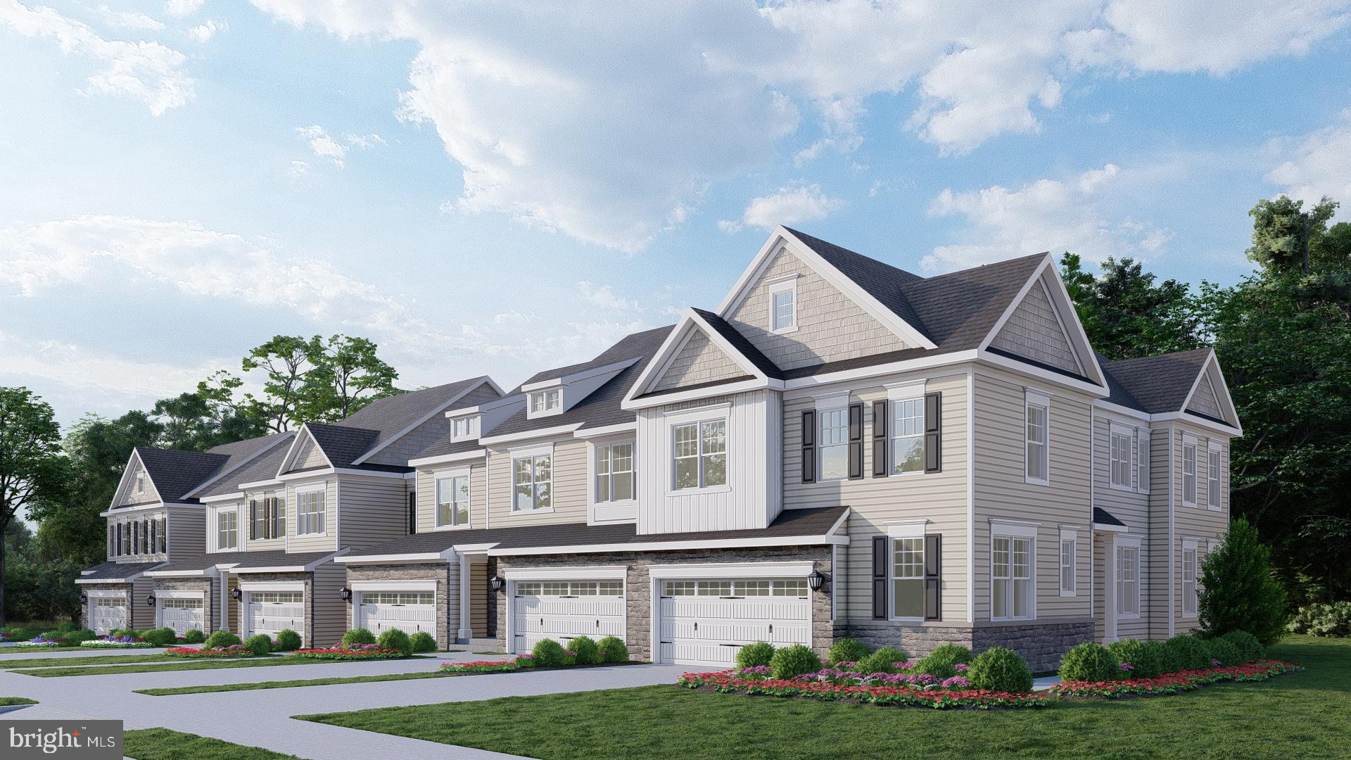 """NOW SELLING  Willistown Point, a beautiful enclave of only 39 luxury carriage homes in Willistown Township, Chester County.  Located  near the most popular boroughs and cities in Southeastern Pennsylvania such as Newtown Square, West Chester, King of Prussia, and Malvern.  This home will be ready in December!  The  """"Charlestown"""" is a stunning, dramatic, open,  end home design with a dramatic two-story foyer and turn staircase design with beautiful detailsm and any upgrades.   This unique community will have beautiful landscaping, natural and paved walking trails, and a pocket park to meet with your new neighbors. It resides in the award-winning Great Valley School District which currently ranks in the Top 20 Best School Districts in Pennsylvania.  Our team has collectively developed 4 brand-new home designs by combining the most attractive features and sought-after options.   Our standard finishes include gourmet kitchens, 9' tall 1st and 2nd-floor walls, 5""""hardwood flooring in foyer, kitchen, breakfast room, study, and powder room (per plan), and 2-car carriage-style garage doors  The gourmet kitchens include 42""""tall Century kitchen cabinets with crown molding, large kitchen islands with built-in cabinets, and stainless steel GE appliances. A 1-, 2- and a 10-year warranty is included in every quality-built Rouse Chamberlin home.  We have just opened.  Roads are in and our 1st homeowners will be arriving in December of this year!  SALES CENTER is open 11-5PM, Thursday thru Monday off site,  we are not on site.  We do have models available, call to schedule your appointment today.  Visit the Rouse Chamberlin  website for additional details."""
