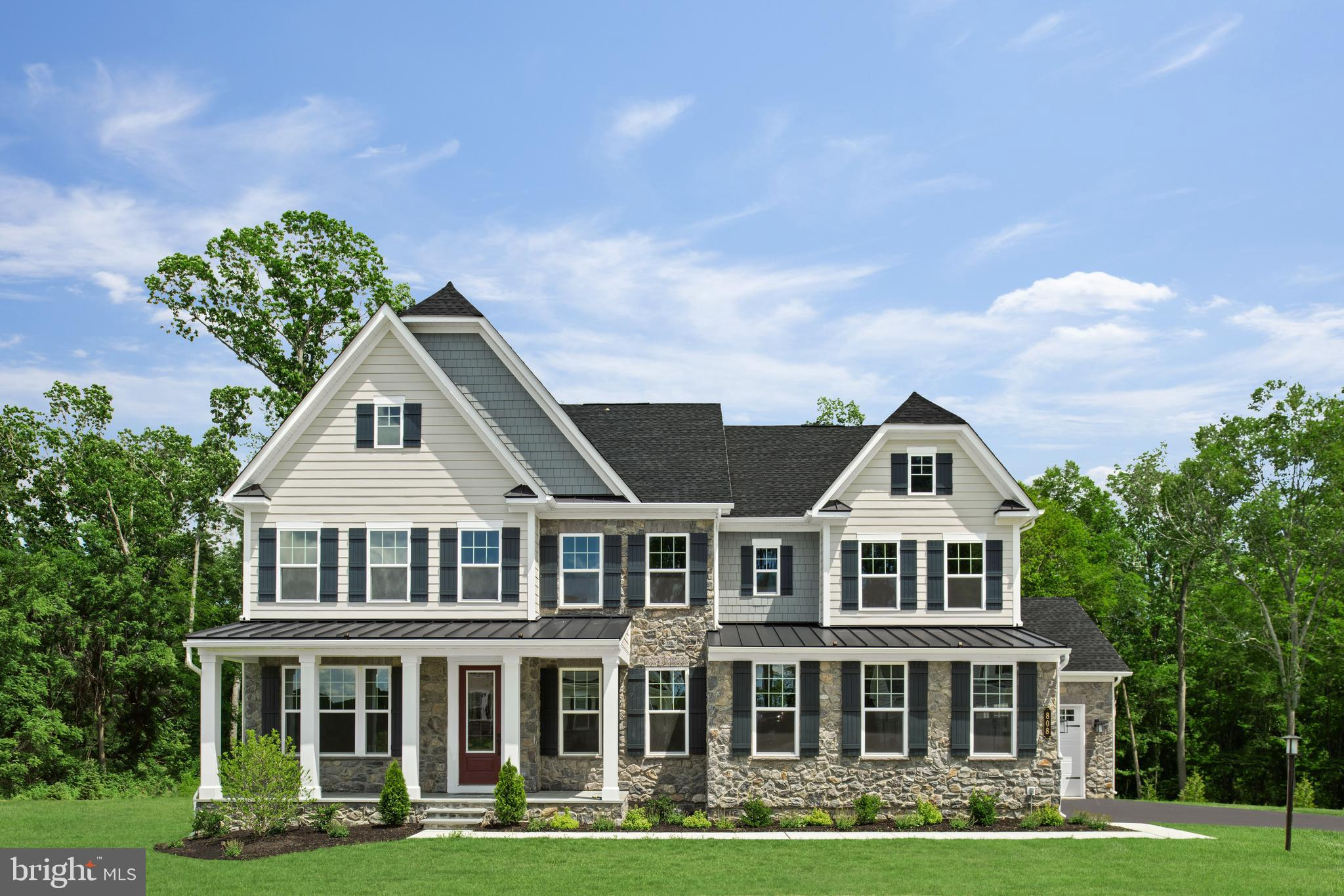 """Welcome to Greystone by NVHomes. Greystone features the only single family homes in a neighborhood with sidewalks, rolling hills, and seven miles of walking trails just minutes from the Borough. The Marymount at Greystone features all the beauty and craftsmanship you deserve in a new home. You will love the hardieplank facade and blue stone front stoops that welcome you home. . As you walk into the foyer youre greeted by light-filled spaces that feel welcoming. To one side, is the dining room, perfect for formal gatherings. To the other a flex room to make your own, whether its a living room, music room -- even add glass double doors and built-in book cases to make it a library. Past a switch back, oak stair a gourmet kitchen with an oversized island that acts as the command center of the home, giving you a practical and functional space thats still elegant. Upgraded features including CushionClose cabinetry, quartz countertops, and 5"""" hardwood floors. The dinette is perfect for cozy family meals and the family room gives plenty of gathering space. Off of the 2 car side entry garage, you will enter into a family entrance with an arrival center and walk-in closet providing you with plenty of storage. Option for 3 or 4 car garage available. A double-door study makes work-from-home a viable concept, or make it a first-floor suite, perfect for guests. The second floor continues to give you the same sense of arrival as on the first floor with a wide hallway. Each of the bedrooms features a large walk-in closet and has access to a bathroom. But the true story luxury is shown in the primary suite. From its dramatic double door entry, this suite lives like a private retreat, providing two enormous walk-in closets, one with a full-length mirror; a tucked-away sitting area; and a spa-like bathroom with dual quartz vanities, roman shower, and a compartmentalized water closet. Your included finished basement with full bathroom gives you even more room to spread out!  Other floo"""
