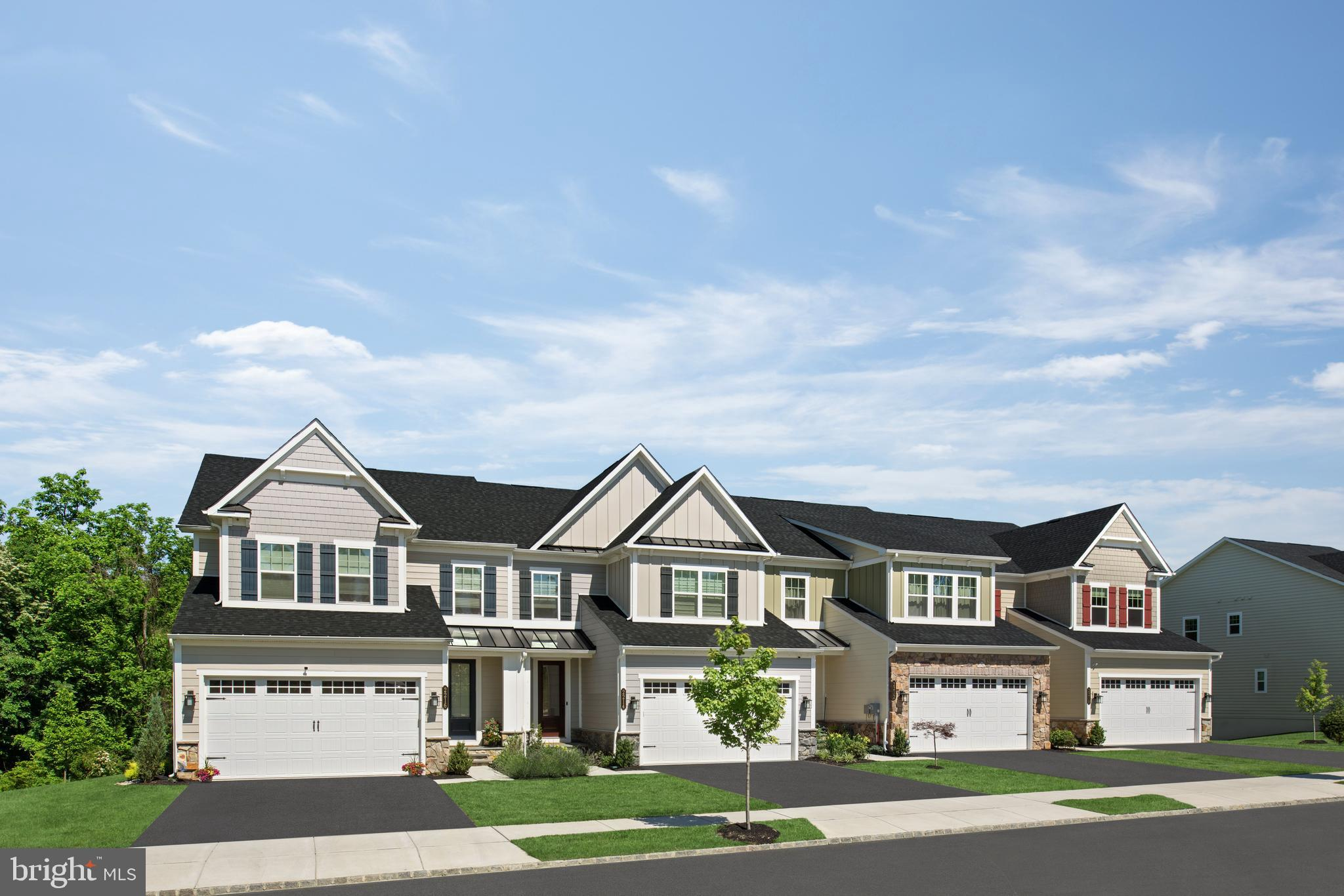Luxury  townhomes in a spectacular estate setting near Rt. 100, 202, the 322 bypass, and West Chester Borough. You can have the best a single-family home has to offer with  large and inviting spaces, lots of light, plenty of closet space AND have the convenience and practicality of townhome living. NVHomes Northshire makes it easy. Enter to the first level and youll be greeted by the open and airy flex room, perfect for formal dining; or choose the study for work-from-home convenience. The kitchen is open to the great room and a casual dining space. A family arrival center and powder room is tucked away making clutter a thing of the past. Upstairs a loft makes a cozy private gathering space while still leaving plenty of room for large bedrooms, a hall bath and a full laundry room. The primary bedroom is a private retreat and boasts a spa-like primary bath and huge walk-in closet with mirror. To top it off, your included finished basement and full bath offers even more space and versatility for entertaining, fitness or relaxation. Youre going to love the Northshire at Greystone!