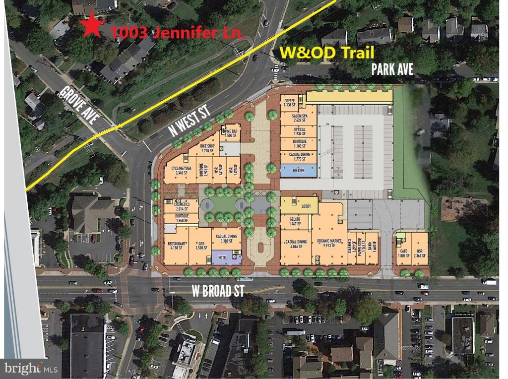 1003 Jennifer Ln, Falls Church, VA 22046