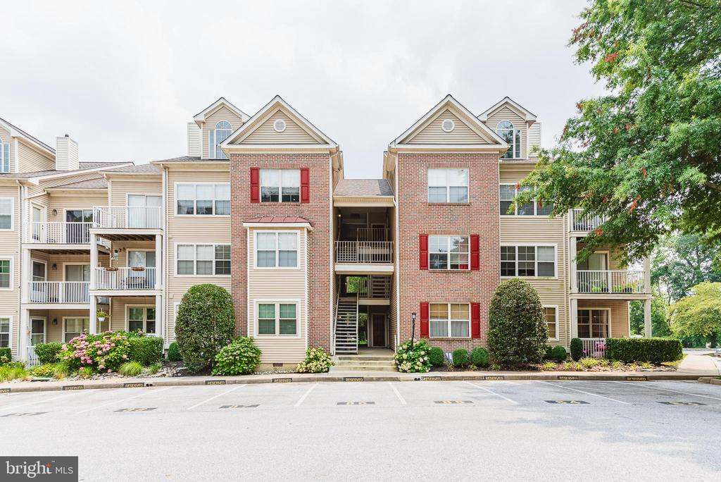 Walk in and you'll instantly feel at home in this beautifully renovated bright 2BR/2BA condo with tons of fresh upgrades.   An abundance of natural light, inside and outside storage, designated parking, and a deck overlooking wide green space & wildlife is a must see! This property is a delightful planned community which is classically designed and perfectly situated to let you take advantage of the county's excellent schools and activities.Close to 695/83. Please follow all current CDC guidelines when visiting.