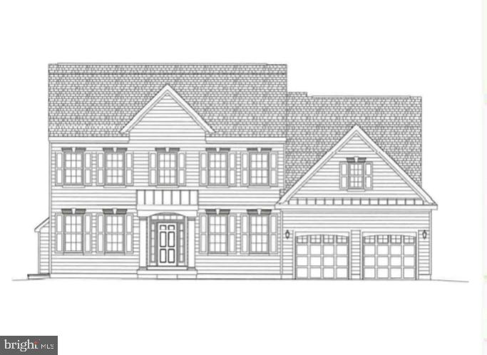 Bristol Traditional on homesite #166.  4 bedrooms, 2.5 baths, study, full basement and 2 car garage.