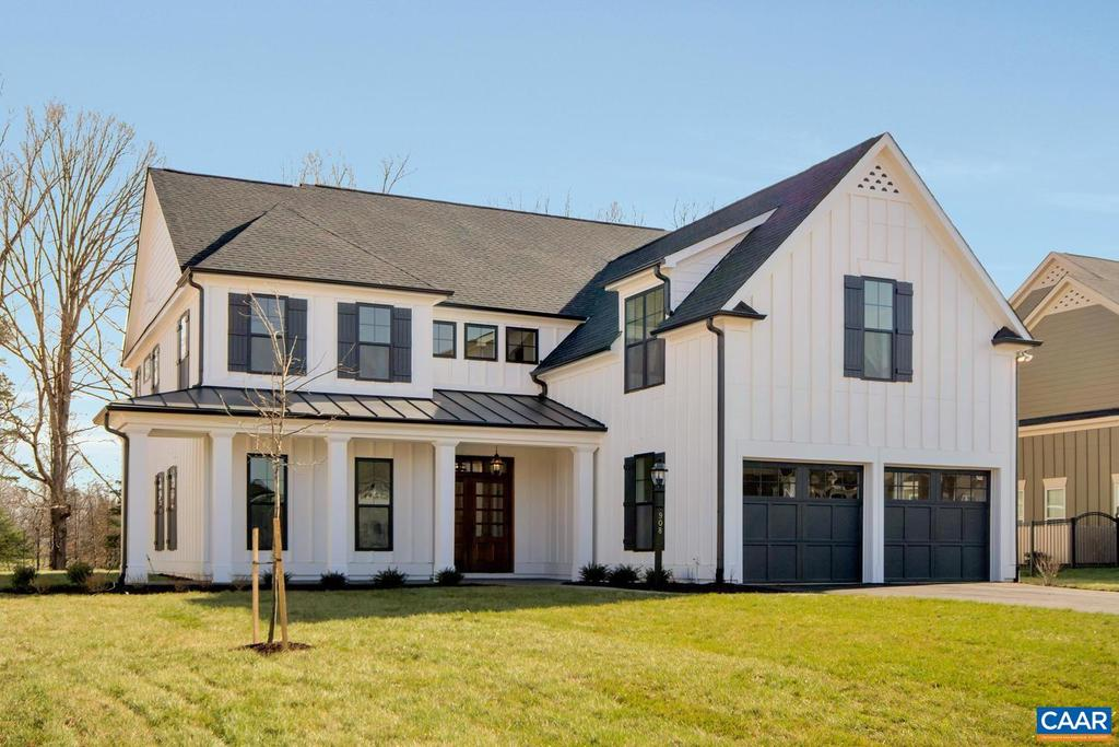 March completion date on for one of the best views in Albemarle County. Introducing Old Trail's most sought after homesites offering water and mountain views--see photos. The Monterey floorplan features a finished bonus room, light-filled open kitchen and great room, walk in pantry, e-space, dedicated study, spacious mudroom as well as second floor owner's suite with his and hers walk in closets. Quality built with 2x6 exterior walls, Pella Windows, custom mahogany front door, Bluestone front porch, 15 SEER HVAC with zoned temperature control. Kitchen includes painted maple cabinetry (white, gray, etc. shaker style), granite countertops (also in owner's suite), and much more. Basement homesites also available for this floorplan. Photos are of previously built model home.,Granite Counter,Maple Cabinets,White Cabinets,Wood Cabinets,Fireplace in Great Room