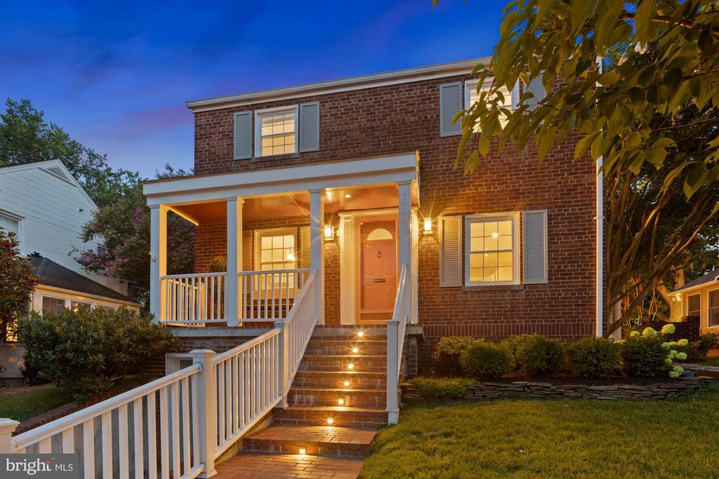 """Prepare to be impressed when you enter this immaculately renovated home which sets on a lovely parcel of land. If you are a ready-to act-buyer, sit back and enjoy the amazing anticipation ahead. Welcome to 1214 W Braddock Rd, Alexandria, VA 22302. At last, here is a home that hits your pot with all ingredients---the location is close in, the abundant of natural light, the covered porch that offers endless entertaining for friends and families with an extended outdoor patio with a firepit for yummy s'mores. This home comes complete with three bedrooms, elegantly renovated full bath with radiant heated floors on the upper level, one newly added powder room, full bathroom in the basement level, formal dining room, an in home office, new windows with frame throughout, newly added recess lights in all rooms, new ceiling fans, new PVC piping throughout the entire home, freshly paint throughout entire home, updated living room gas fireplace with granite frame, all new electrical outlets and light switches to unify the look. Conveniently located to transportation, shops, dining and leisure facilities within easy reach, this is the ideal place to call home. Be prepared to fall """"in love."""""""