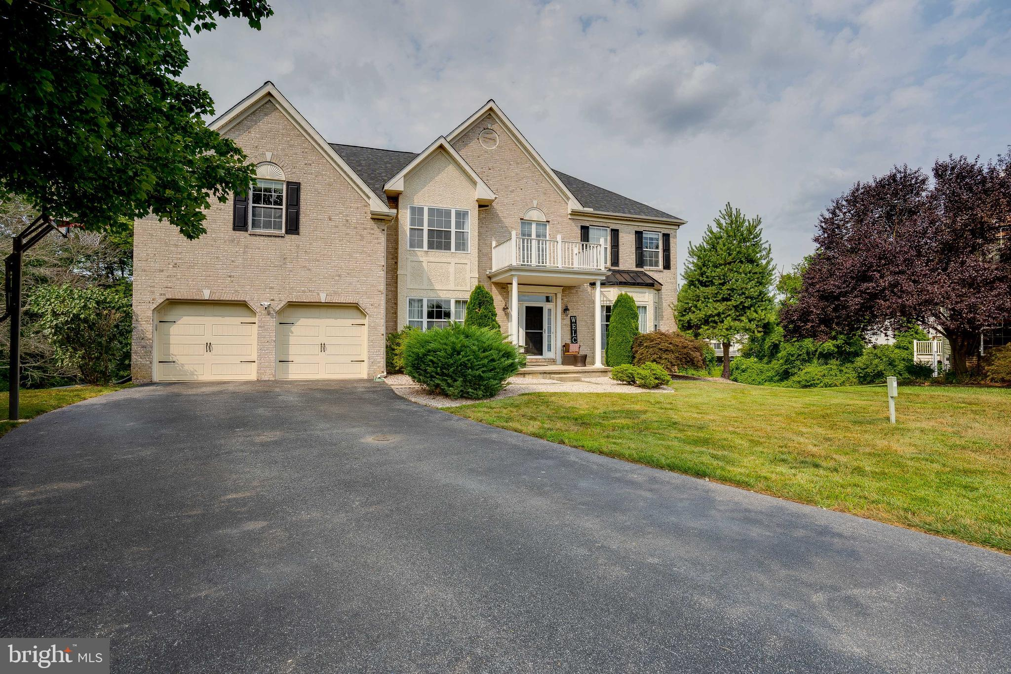 You do not want to miss this stunning home with many upgrades!  Tucked away on a private cul-de-sac surrounded by golfing and parks this home will not disappoint.  The first floor features a nice open floor plan. The large eat-in kitchen  opens up to the deck . There is a double sided fireplace between the kitchen and family room. The large family room has vaulted ceilings adding to the open feel. There is a home office, living room and dining room as well.  Beautiful hardwood floors and trim work make this home feel special.  The Master Suite includes space for an office or sitting area, large full bath and separate walk in closets.  A 2nd bedroom has an ensuite full bath. The other two bedrooms share a full hall bath.  The walk out basement has been completely finished and has many windows with lots of natural light. There are 3 separate rooms that can be used as home offices, spare bedrooms or exercise space.  There is plenty of storage in the unfinished utility room. New dishwasher installed in 2020, kitchen refrigerator, oven, and stove  replaced in 2018, 1st floor carpeting installed in 2021, garage doors installed in 2019, 75 gallon water heater installed in 2021, freshly painted in 2021, new hardwood flooring installed in 2021, HVAC installed in 2017, new roof installed in 2017.
