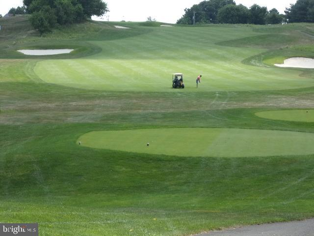 See the 16th hole from your front porch