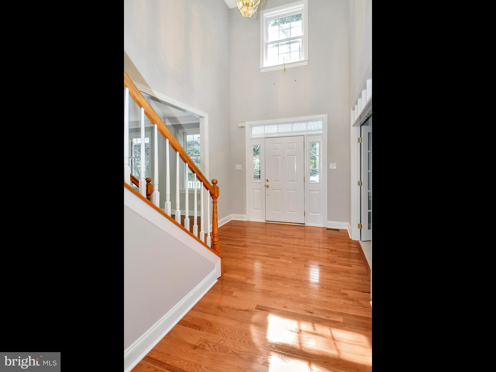 Entry Foyer with Cathedral Ceilings
