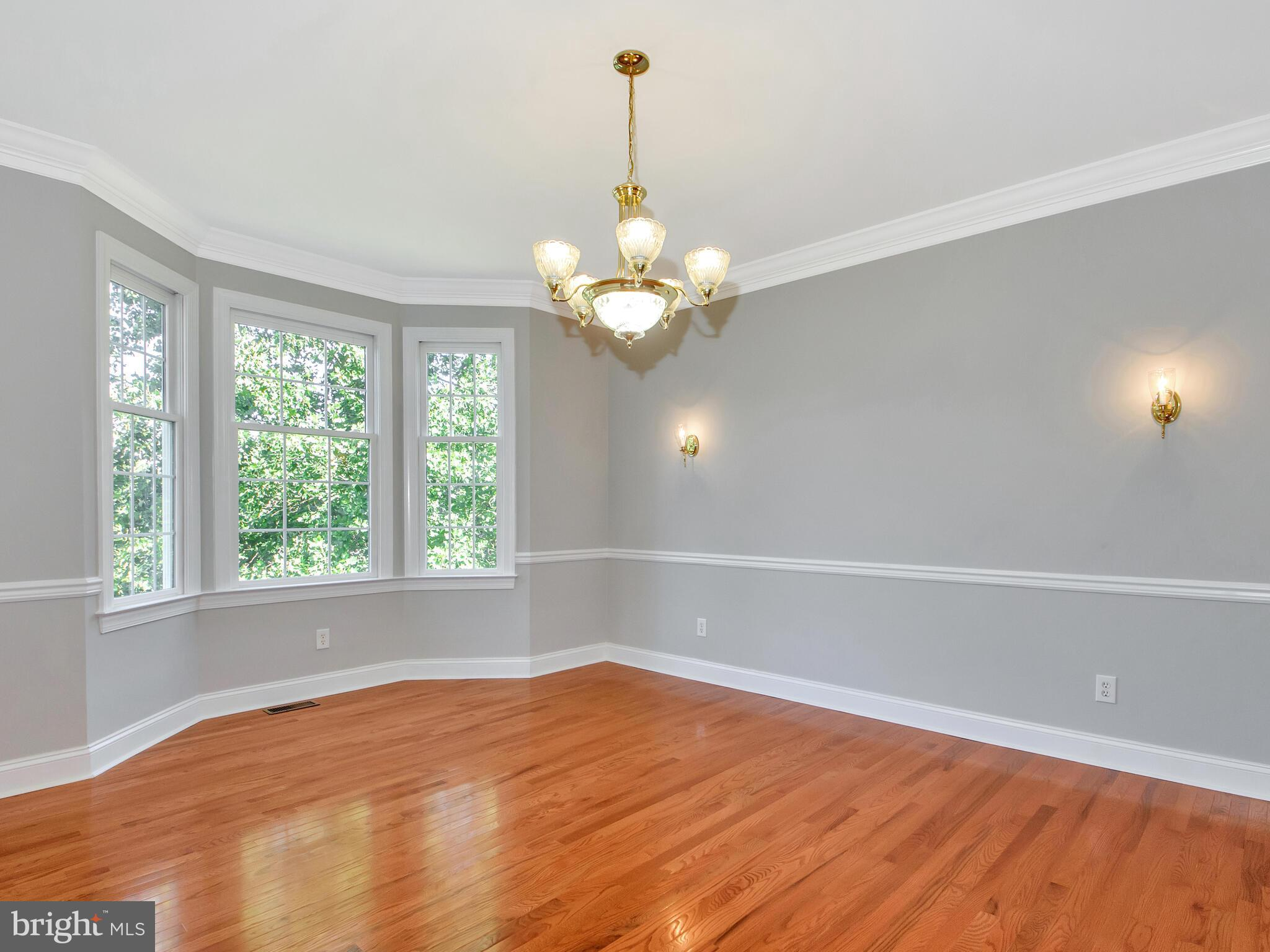 Dining Room featuring Bow Window