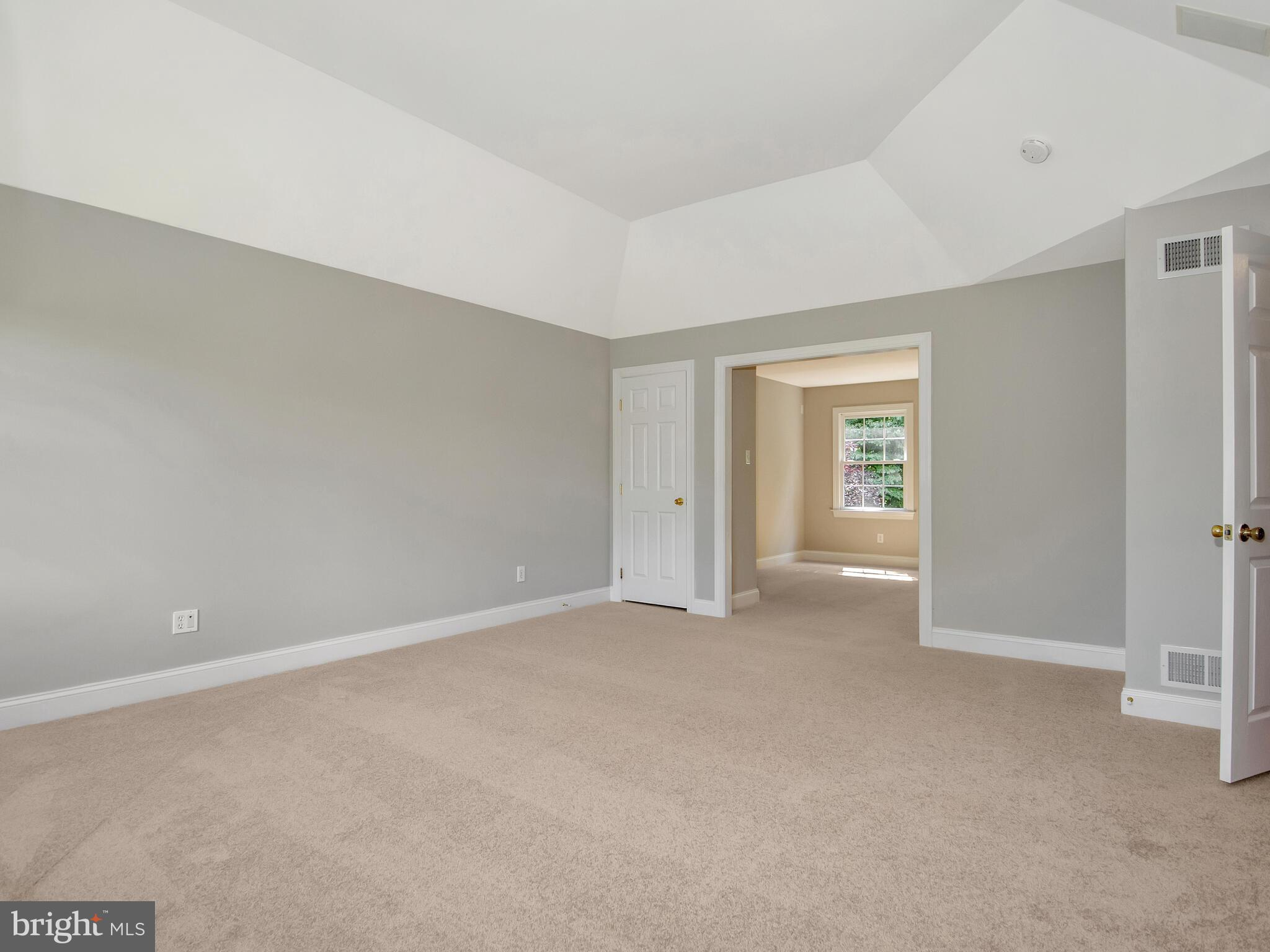 Primary Bedroom with Tray Ceiling
