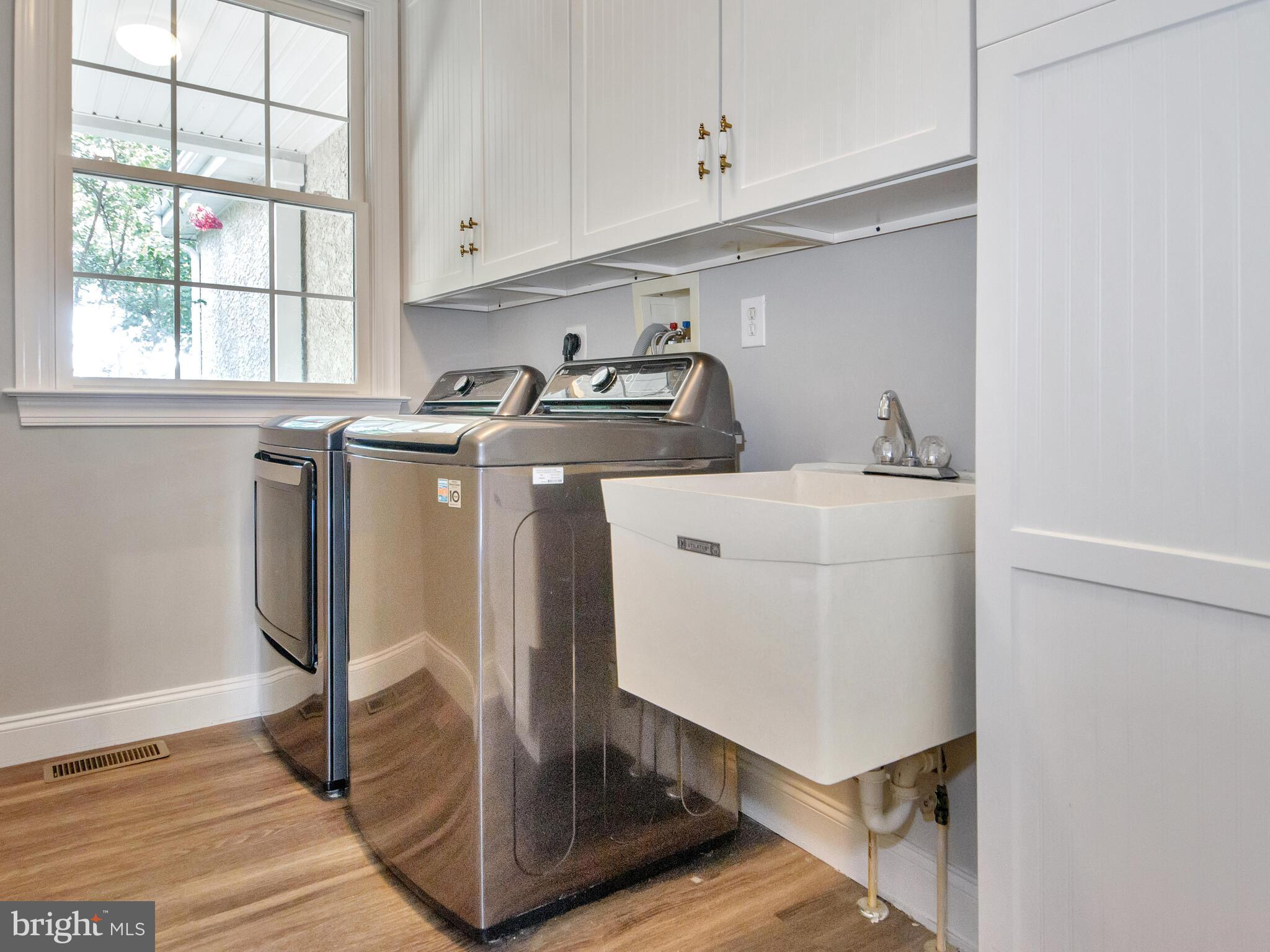 Convenient Laundry Room with Sink