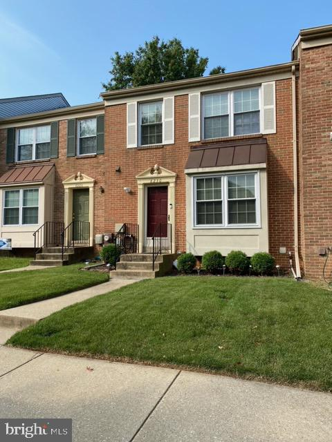 Home is here! Seller offering roof certification, one year home warranty, some closing help and ring doorbell cameras on front and rear.  Welcome to this well kept townhome in Laurel, MD.  This home features 2 assigned parking spaces, an owners suite with owners bathroom with 2 additional bedrooms, 1 full bathroom in the hallway , 2 half bathrooms, one the main level and the other in the finished basement.  Backyard includes deck and wooded fence for privacy.  Lots of upgrades such as nest thermostat, screen door, sliding patio door, lighting fixtures and ceiling fans and much more. HVAC 2016, updated cabinets and corian counters 2015, hot water heater 2014, windows 2010. Conveniently close to shopping and restaurants.  Ring doorbell camera's on front and back convey.