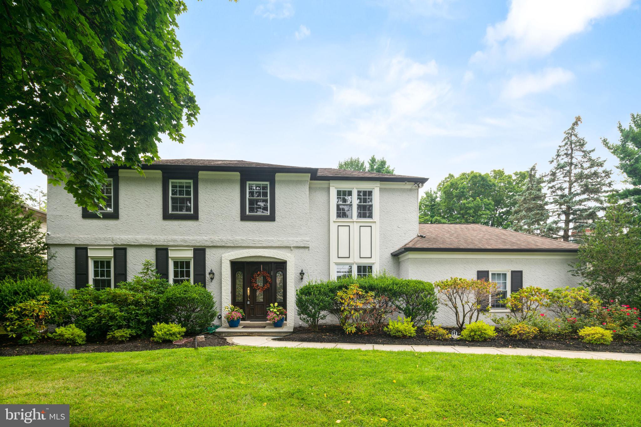 Welcome to 20 Llanberris Road! This lovely 4 bedroom, 3.5 bath colonial sits on .46 Acres with a POOL in a prime Bala Cynwyd location, in a leafy established neighborhood.  The open floor plan at 20 Llanberris features a kitchen boasting stainless appliances, granite countertops, and opens to a breakfast room and a generously-sized family room, complete with a new wood burning fireplace insert.  A double door from the family room leads you to a flat, grassy yard that provides expansive space with unlimited creative options, SWIMMING POOL, and custom pool house. The formal living room connects to the family room and allows the first floor to be flooded with natural light. A nice-sized dining room is separated from the kitchen with a french door.   The first floor powder room has a door that opens directly to the backyard; perfect for access from the pool. The attached 2-door garage with new garage door and newly paved driveway,  leads directly into the kitchen.  The second floor w/beautifully refinished hardwood floors includes four generously sized bedrooms. The master suite has a renovated master bath featuring a frameless, triple-head walk-in shower, double vanities and a soaking tub.  Room for all of your clothing and accessories can be neatly stored in the walk-in closet.  Three additional bedrooms and newly renovated hall bath complete the 2nd floor.   The finished basement offers a multi-purpose room, separate room for a potential office, full bathroom, and laundry.  Short walk to Cynwyd Park, Cynwyd train, Cynwyd Tennis Club, Cynwyd Heritage Trail and Bala and Montgomery Ave  shops and dining. Nationally recognized Lower Merion School District, quick access to I-76 and center city, the Airport, and the Jersey Shore makes this an ideally located home, ready for move-in.