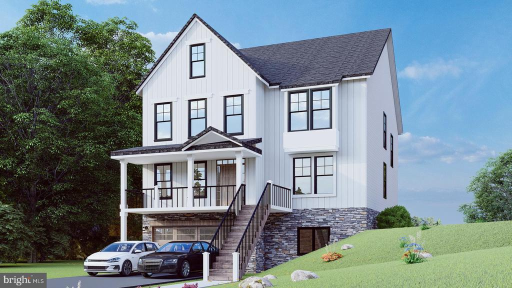 SHOWINGS BY APPOINTMENT ONLY.  NEW CONSTRUCTION!!! - This luxurious 6 bedroom 5 bath Brand new build in the desired community of Round Bay is a dream home in a high-end community. Spanning over 5800+ SF, this magnificent residence graced by soaring ceilings and expansive windows is a haven for gazing at Severn River views from multiple vantage points. An elevator stops on all four levels of this modern masterpiece with every detail considered for style and comfort and the finest finishes optimizing Modern luxury. Soft contemporary neutral tones and chic recessed lighting are complemented by brilliant natural light that pours into expansive living space. Entertain in the fabulous great room with a fireplace, served by a sleek open chef's kitchen with a work-of-art quartz countertops and premium JennAir appliances. Other highlights include a 3 car garage, a rear deck overlooking a private tree lined backyard, A master suite with a private terrace, spa-like baths, and a phenomenal rooftop deck - a true oasis. Severna Park Modern living doesn't get much better than this, near exemplary schools, the city of Annapolis, dining, shopping and water activities.  Live on the highest point in Severna Park - Mount Misery, formerly a civil war outpost and look out.