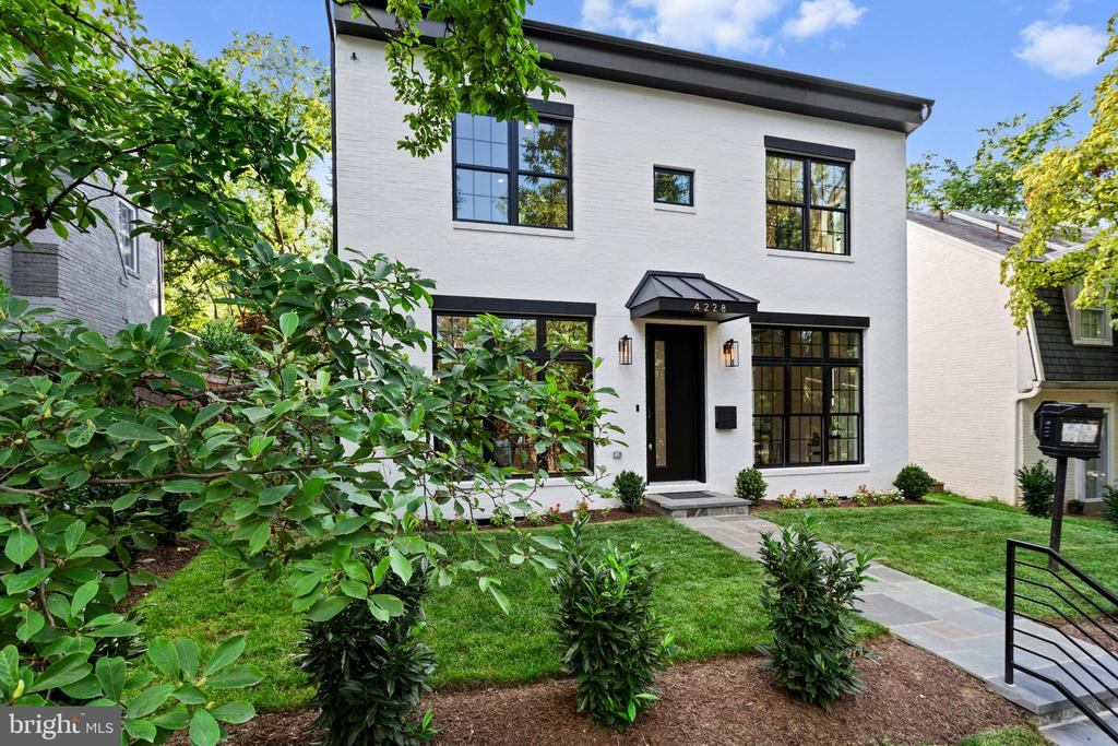 Spectacular is an understatement when it comes to this newly built four-level 4400 Sf detached stunner in the heart of one of DC most sought-after locations. State-of-the-art finishes are appointed throughout this modern yet elegantly designed home. Black Pella oversized windows make the already open living space that much brighter. The chef's kitchen is as functional as it is stylish, boasting the finest custom cabinetry and rarest stonework. An owner's suite of pure luxury with a spa-style bath and custom dressing closet. Entertain guests in a sprawling recreational room; or in the meticulously landscaped private backyard. European oak flooring, Porcelanosa tiles, prewired entertainment system with Polk audio speakers throughout,  Thermador WiFi compatible smart appliances, Ring doorbell security system,  and a garage wired for an electric car charger are just some of the smart and custom features this beauty has to offer. This house is as special as it gets.