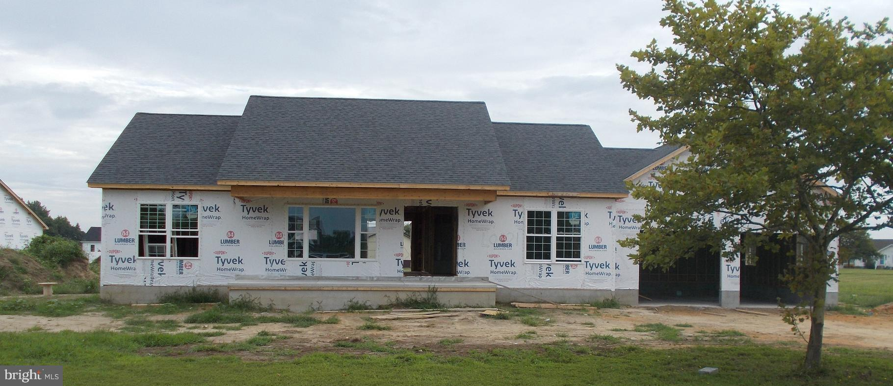 New construction - be in your own brand new home by Christmas!! Quality, stick built home featuring 3BR, 2 baths, granite kitchen counter tops, island, separate laundry, and an attached garage.  Still time to choose your own colors.  Efficient heat pump (gas/electric) with in demand hot water heater.  Fully conditioned crawl space. Warwick School District.