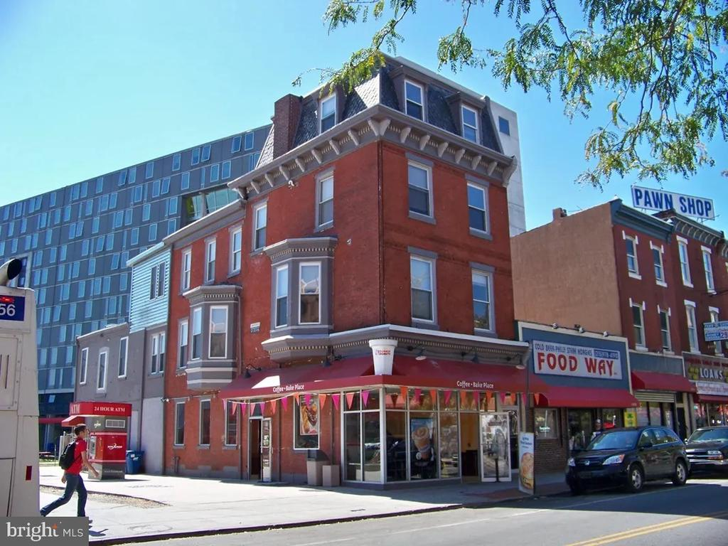 Extremely rare and incredible opportunity to purchase 1420 Cecil B Moore Ave. First time to the market in over 50+ years.  This 5 unit corner building is situated in a prime location directly on Temple University Campus!  The first floor is occupied by Dunkin Donuts on a NNN lease, the above floors have (3) two bedroom/1 bathrooms and (1) two bedroom/1.5 bathrooms totaling 4 residential units. Each apartment is generously sized and equipped with a full kitchen, washer/dryer and bay windows allowing for ample amounts of natural light and views. In addition, there is an ATM on site that produces additional income. This is a true turn-key investment in a rapidly expanding area with tons of development all around . Please reach out to the co-listing agent for the rent roll and P&L statement.