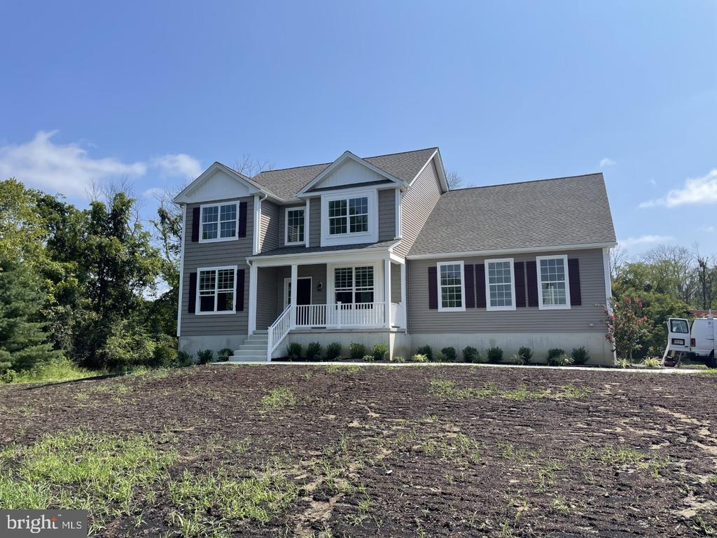 Brand New Home under construction on a large 3.53 acre lot in a nice 5 lot subdivision. 274 Old Marlton Pike is a large homesite that includes a pre-existing 40 x 30 2 story barn.  The 2700 sq. ft.  home features 4 beds 2.5 baths with a full unfinished basement with great day-lite windows. City water and City sewer. 2 zone High Efficiency Heat and AC. Tankless Hot Water Heater. Luxury Vinyl Plank flooring and carpeting. Kitchen features Marsh shaker style cabinets, granite countertops, subway tile backsplash and GE Stainless appliances including Gas range.  Great room with have a 36 inch ductless gas fireplace. Stairs are oak treads and oak railings. Standard landscape package included.  PT wood deck included. Black top driveway to the garage, stone continues back to the barn that has updated roof, new vinyl siding, concrete flooring and a second floor as great bonus space. Barn adds huge value to this home site.