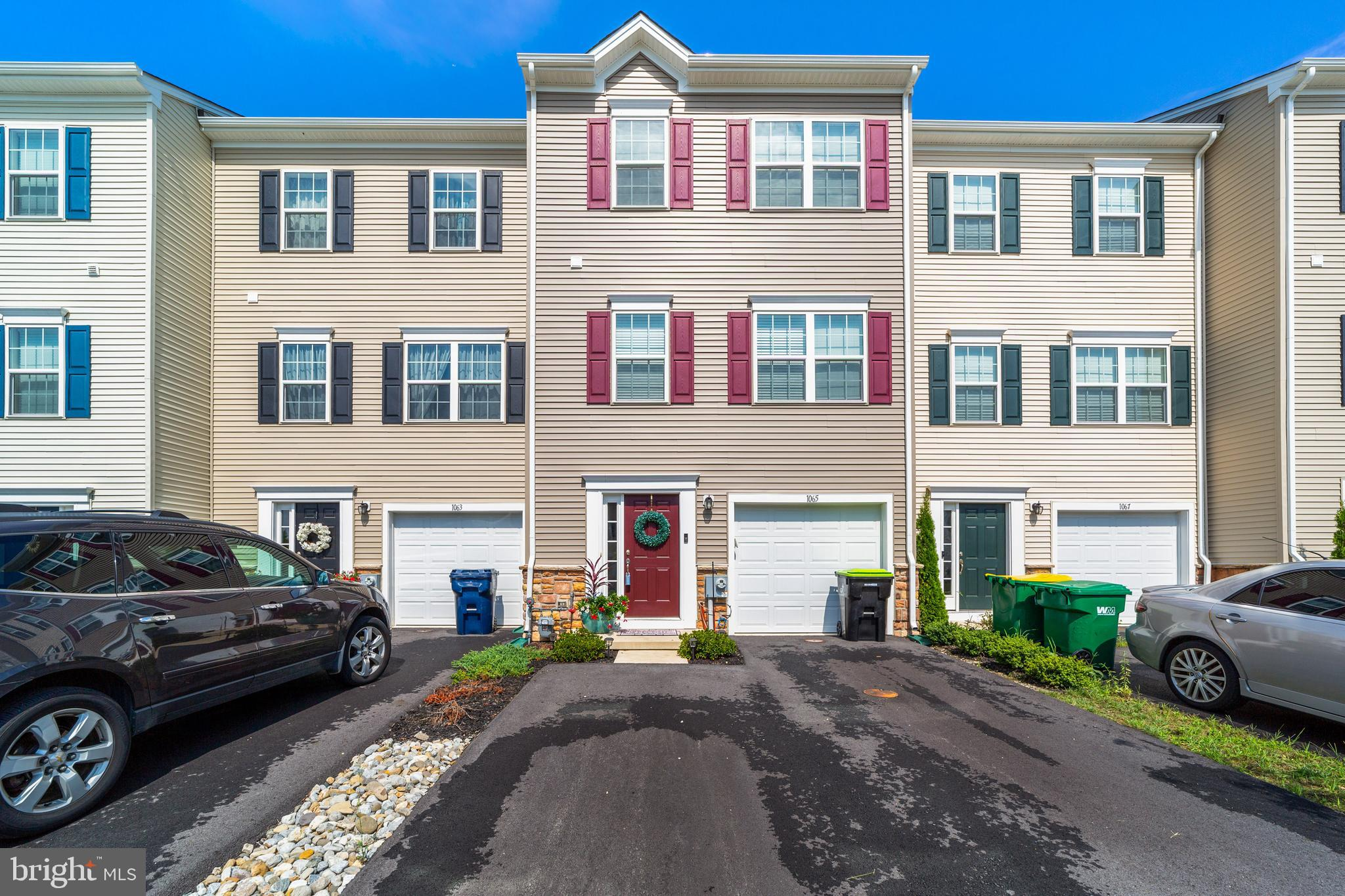 Showings begin at open house 8/28 at 11 am! Why wait for new construction! This well maintained, 2 year old, 3-story town home is in great condition. Nothing to do here but move in. Located in Hyett's Crossing and conveniently located within minutes of route 1 access, just south of the canal.  Upon entering the home through your spacious foyer the  hallway leads to your finished family room with access to your fenced rear yard backing to large open space.  On the main level the open floor plan is highlighted by the large living room and kitchen with  a generous island, pendant lights, stainless steel appliances, white cabinets and granite counters. Upstairs, the third floor boasts a main bedroom suite with private bath and walk in closet. There are also two additional  bedrooms and a full bath on this level. Priced to sell, put this on your tour today!