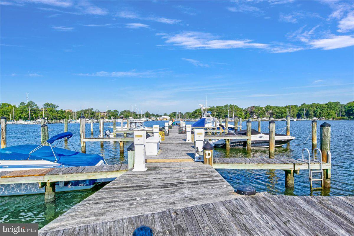 ***Price improvement: $595,000.  Seller has found their next home! Bring offers! Close in 45 days and be moved in before the holidays.** Are you looking for a low maintenance type of life? How about a community that offers a pool, clubhouse, gym, community events, a kayak launch & a pier - all things that you can enjoy without the hassle of maintaining it yourself? Unit #303 sounds like it could be the one for you!  This unit is unlike others with TWO balconies to enjoy water views (the current owner specifically has guests over at sunset and says that is one of the best parts about living at this unit!) - one covered balcony, to sip your morning coffee and one open balcony, for simply a place to lay out and get some sun! TWO parking spots, with plenty of guest parking throughout the neighborhood. Located on the penthouse level, so you won't hear any noise above you but this also gives you all of the vaulted, tray & cathedral ceilings!! This unit offers one of the largest Deeded Boat Slips (slip D15) in the whole community & located on Back Creek - feel free to bring your boat & jet skis! The kitchen has beautiful granite counters, stainless steel appliances and an island for entertaining.  There is also under cabinet lighting, upgraded kitchen cabinets, and tile flooring in entryway, kitchen, and all bathroom! Not only can you have an eat-in kitchen (with table space) there is also room for a designated dining room! The main level offers 2 bedrooms, 2 full bathrooms - the primary bedroom has a tray ceiling,  sweeping water views, TWO closets and a huge bathroom with two sinks! Upstairs you will find another large bedroom with a full bathroom - this one has its own balcony!! The open floor plan & plantation shutters make you feel at home and the water views will make you never want to leave! Full house audio/speakers conveniently located in the ceiling for listening to music or watching movies while you cuddle up next to the gas fireplace. Worried about storage? Wel