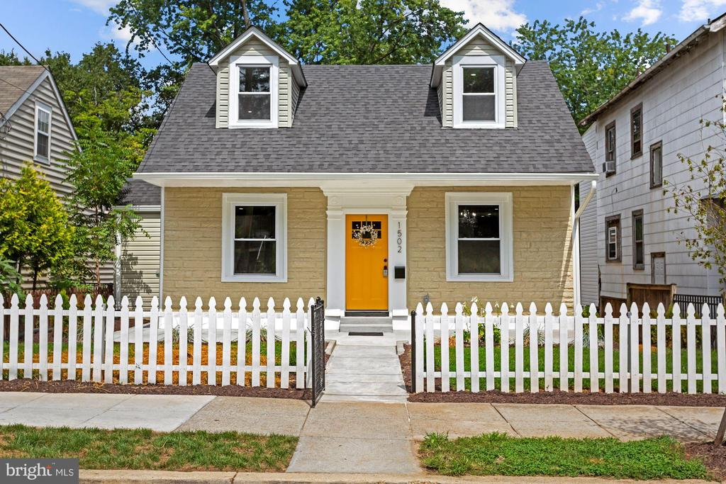 Understated Elegance! There is only one!!! Be the first to occupy  this completely redone Old World Brookland Classic! Nothing to do but decorate! Everything has been done so no work to do. Did you notice the Great Location, Lots of interior space, Huge yard and deck. Welcoming and homey picket fence and covered front deck. Large Living Room and Dining Room, New Chef's Kitchen with working and dining Island in addition to table space in Kitchen, Jumbo Walk in Pantry. Full Guest Bathroom on Main with Whirlpool Tub to compliment office/intelligence room/Bedroom #4. Large deck in Rear for entertaining. Upper Level offers Owners Master Suite with Master Bathroom, Bedroom #2, Bedroom #3 and Full Hall Bathroom with Whirlpool Tub. and separate Laundry. Lower level Reveals Recreation Room, Bedroom #5 and Bedroom #6/or Office, Full Bathroom #4. Walk out to rear yard, and delightful fun Fountain,. Oversized Storage shed for all outdoor activities.